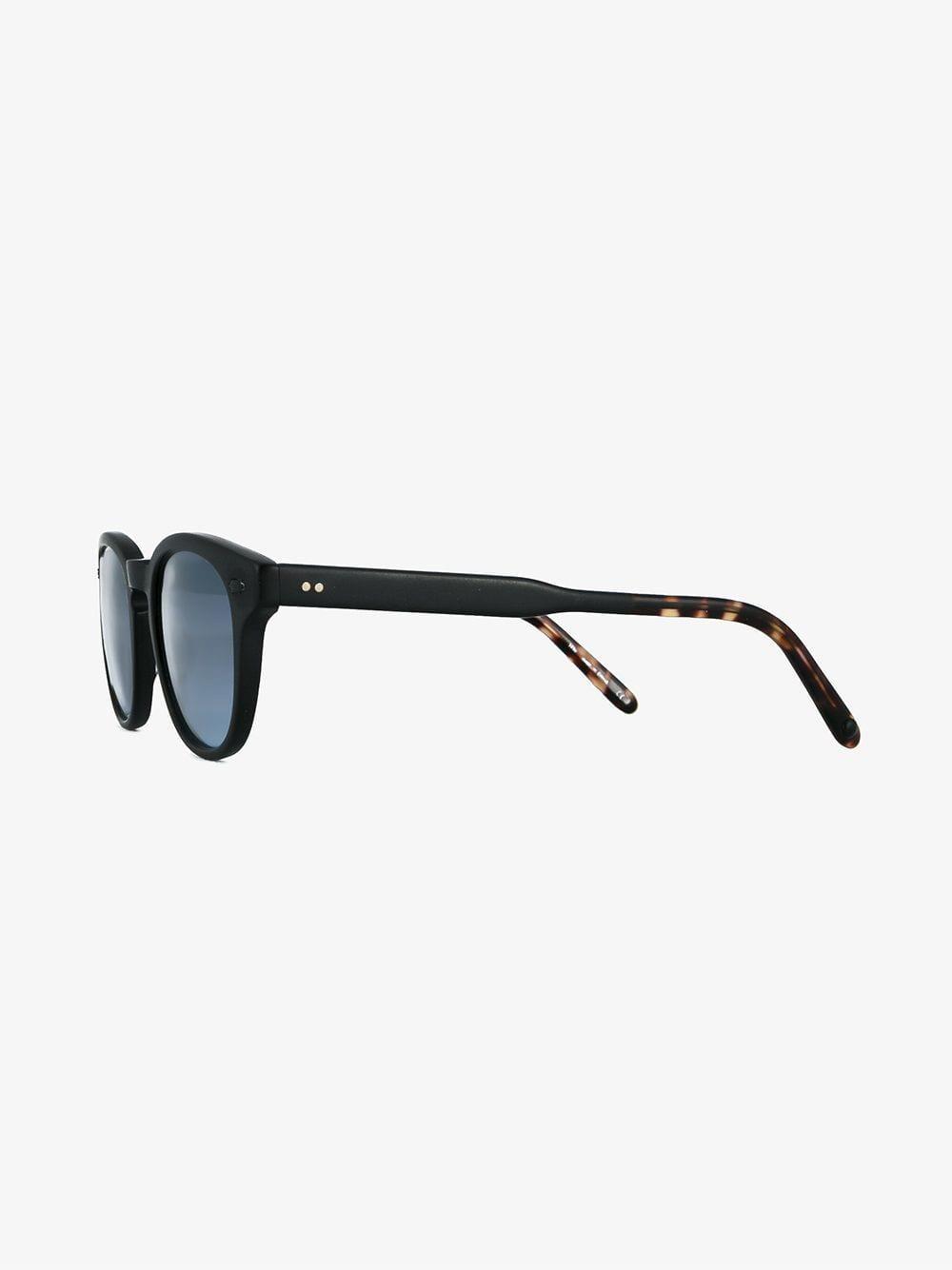d6d23ee09873 Lyst - Garrett Leight Warren Sunglasses in Black for Men