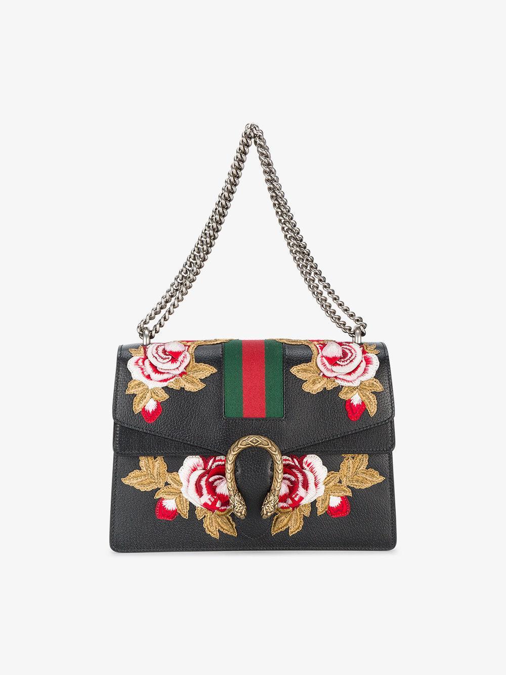 81873d89e5f Lyst - Gucci Dionysus Shoulder Bag in Black