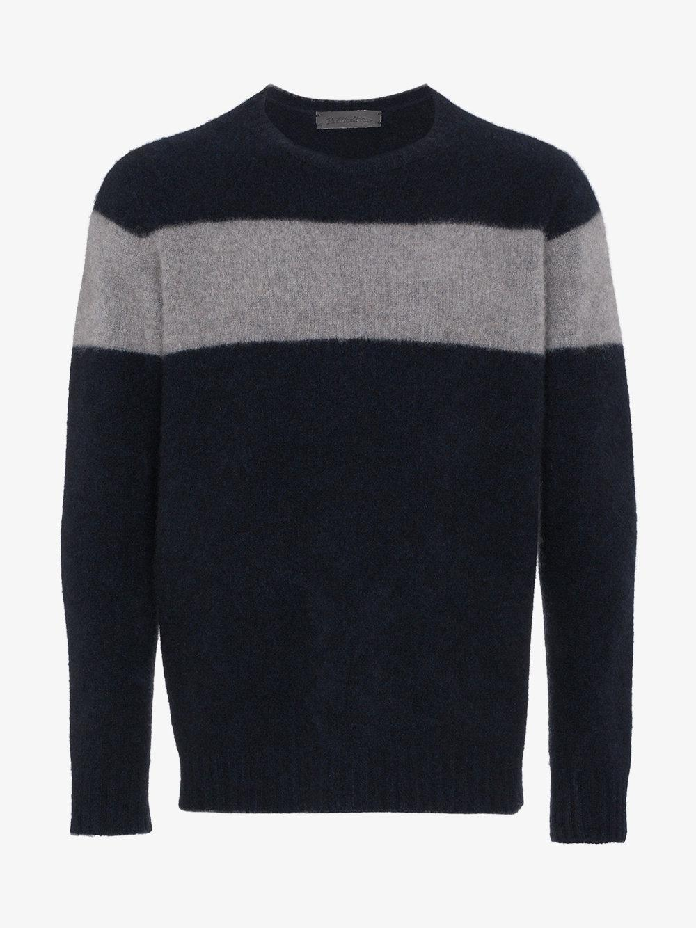 4534467e the-elder-statesman-Blue-Striped-Cashmere-Sweater.jpeg