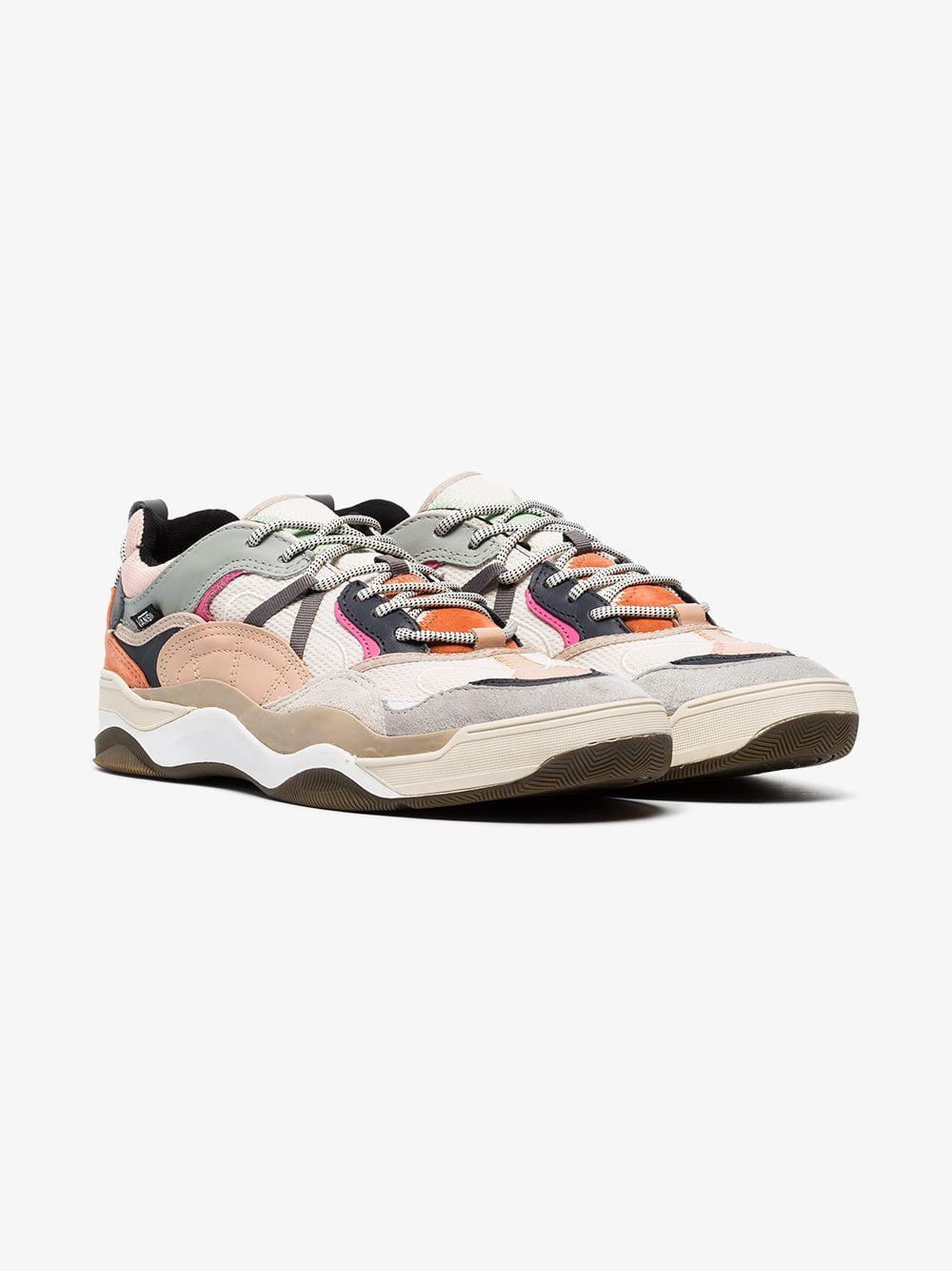 f1e207e99e Lyst - Vans Multicoloured Varix Leather And Suede Sneakers for Men