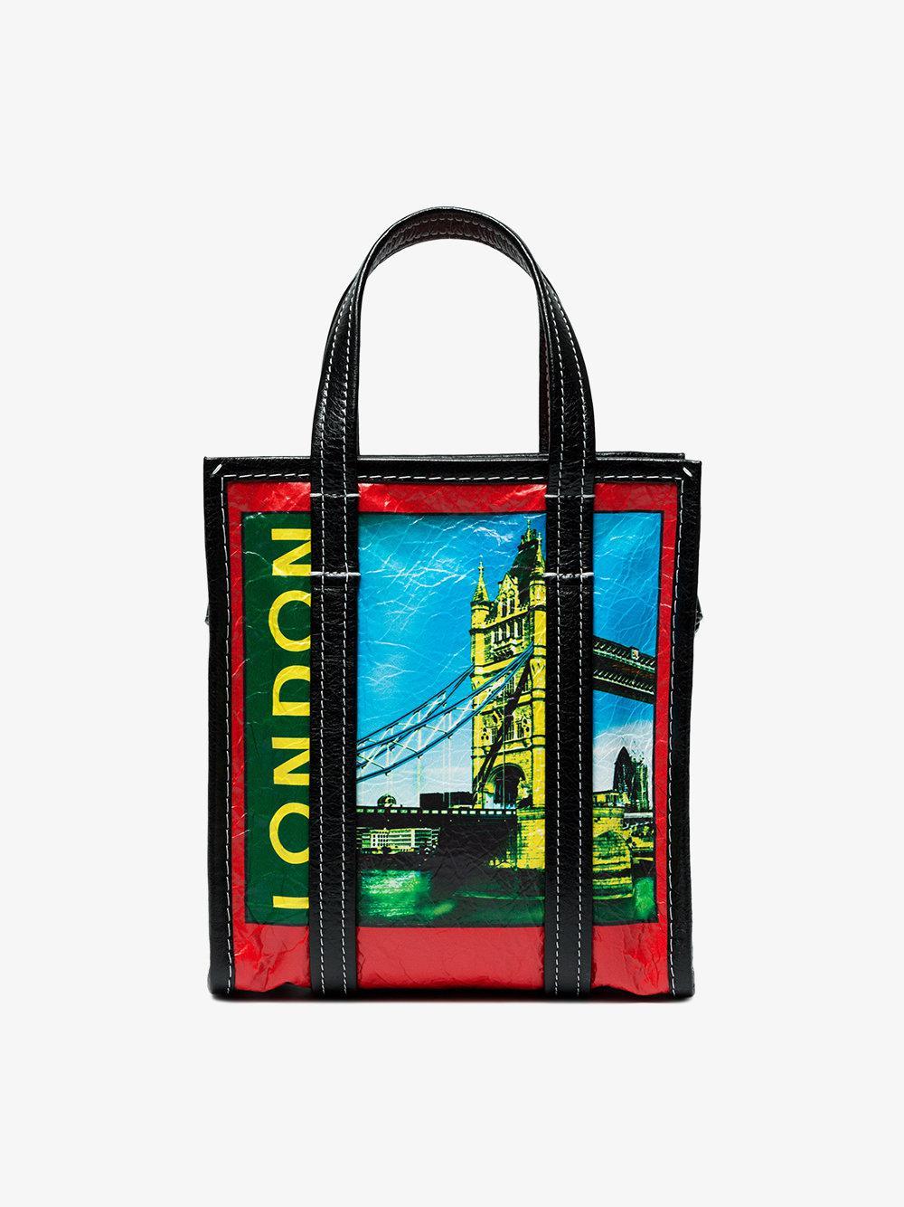 London Bazar Shopper Mini tote Bag Balenciaga Discount With Mastercard 05Vxo