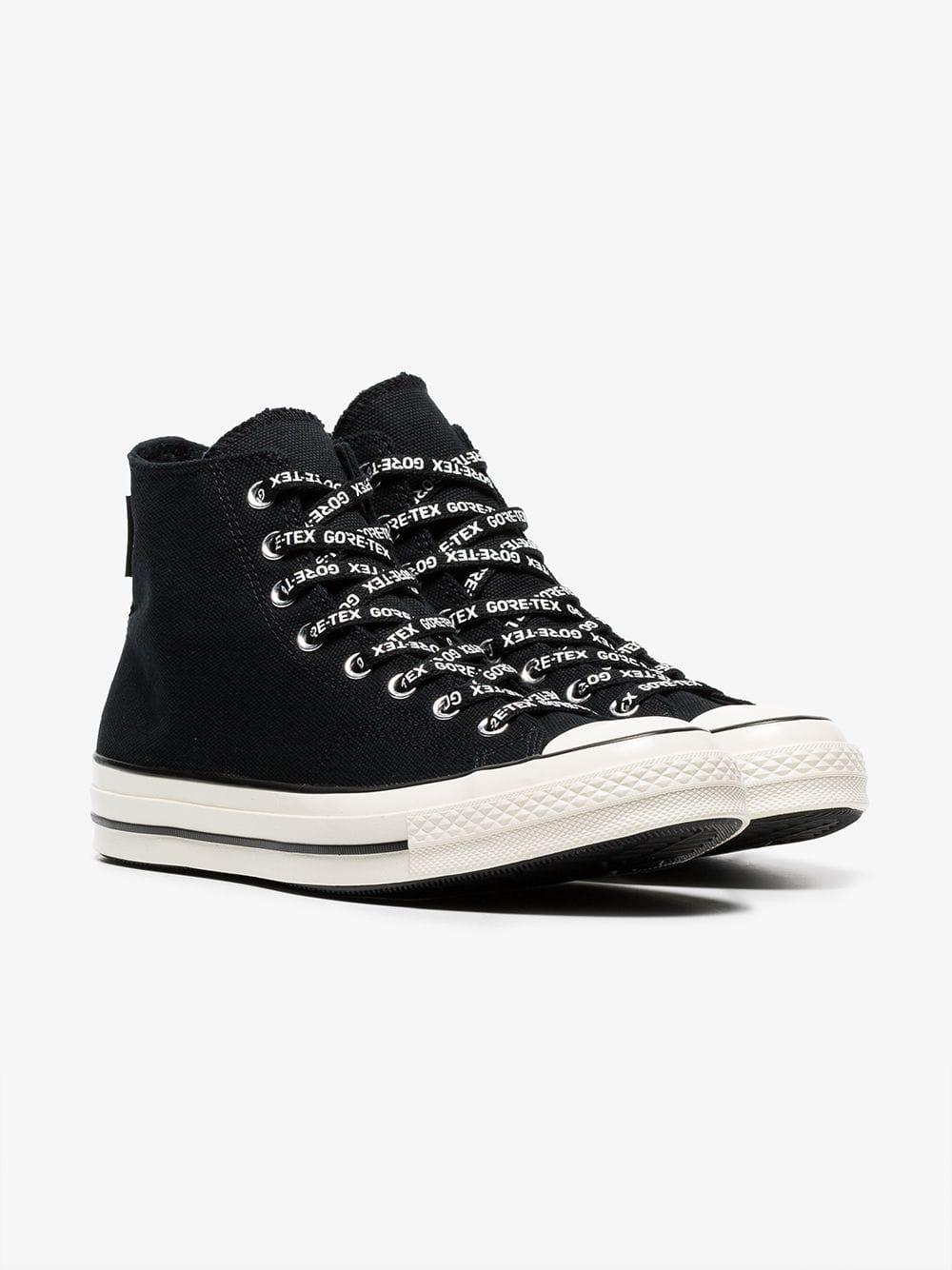 fcd801a7859 Converse - Black Chuck 70 Gore-tex High-top Sneakers for Men - Lyst. View  fullscreen