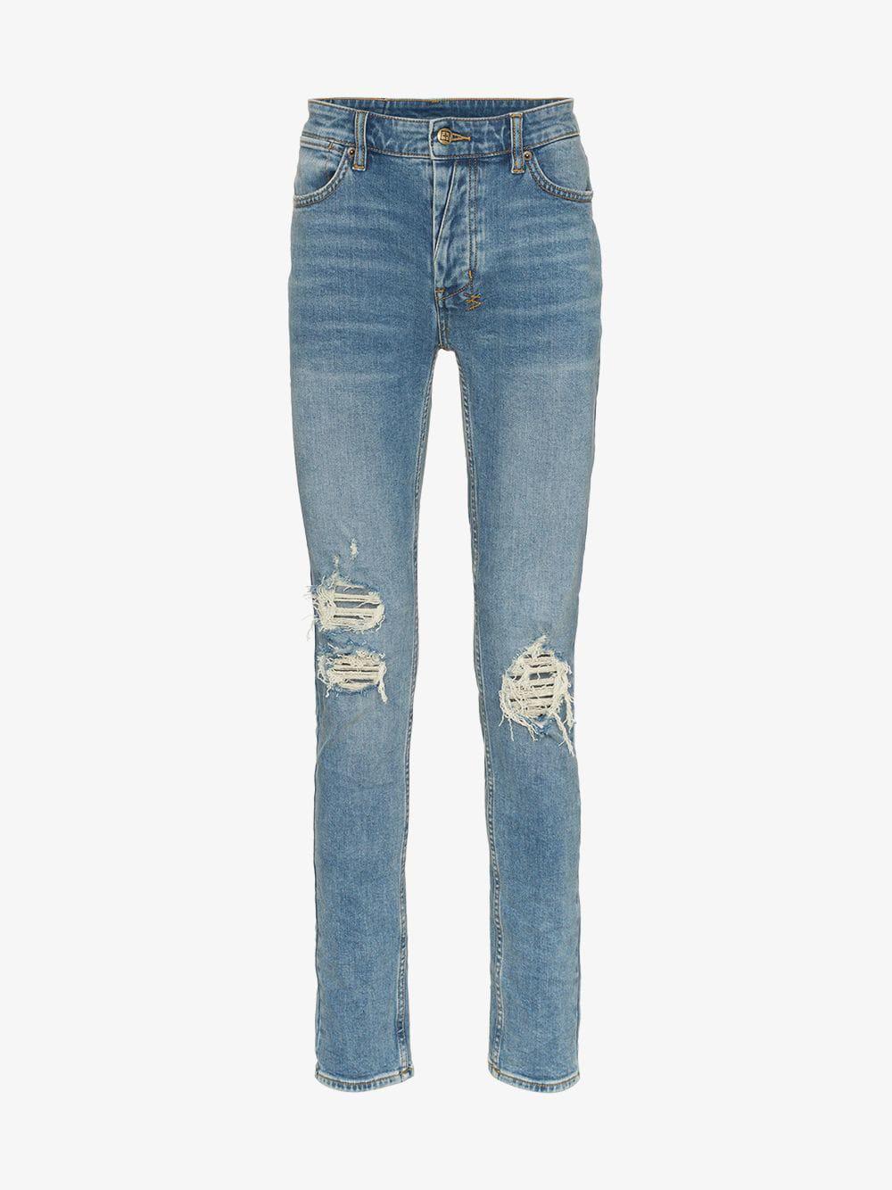 ee39d41d75d Ksubi - Blue Van Winkle No Glory Jeans for Men - Lyst. View fullscreen