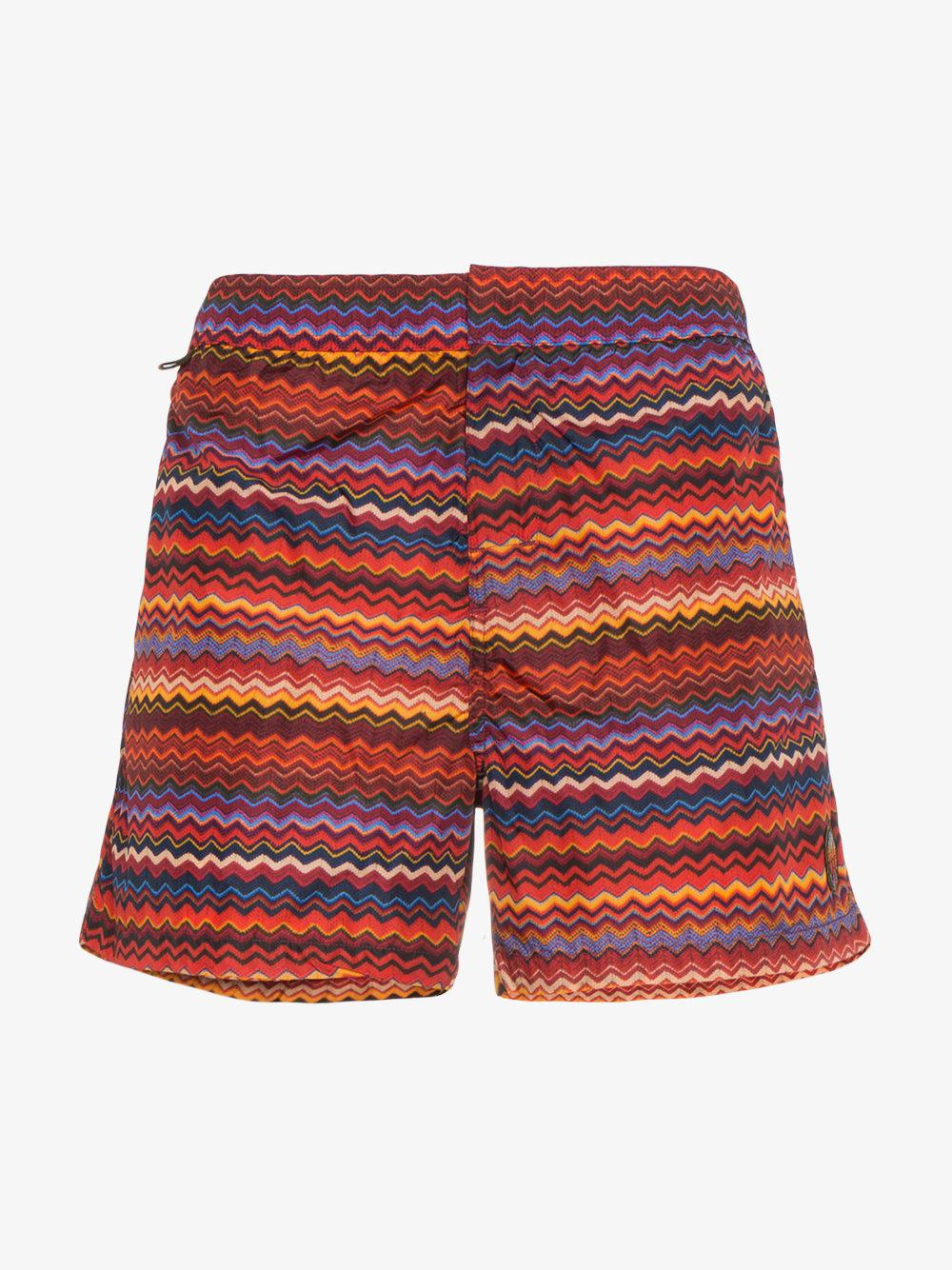 Small Zig Zag Swimshorts - Multicolour Missoni Buy Cheap Best Place xHArn9xQW