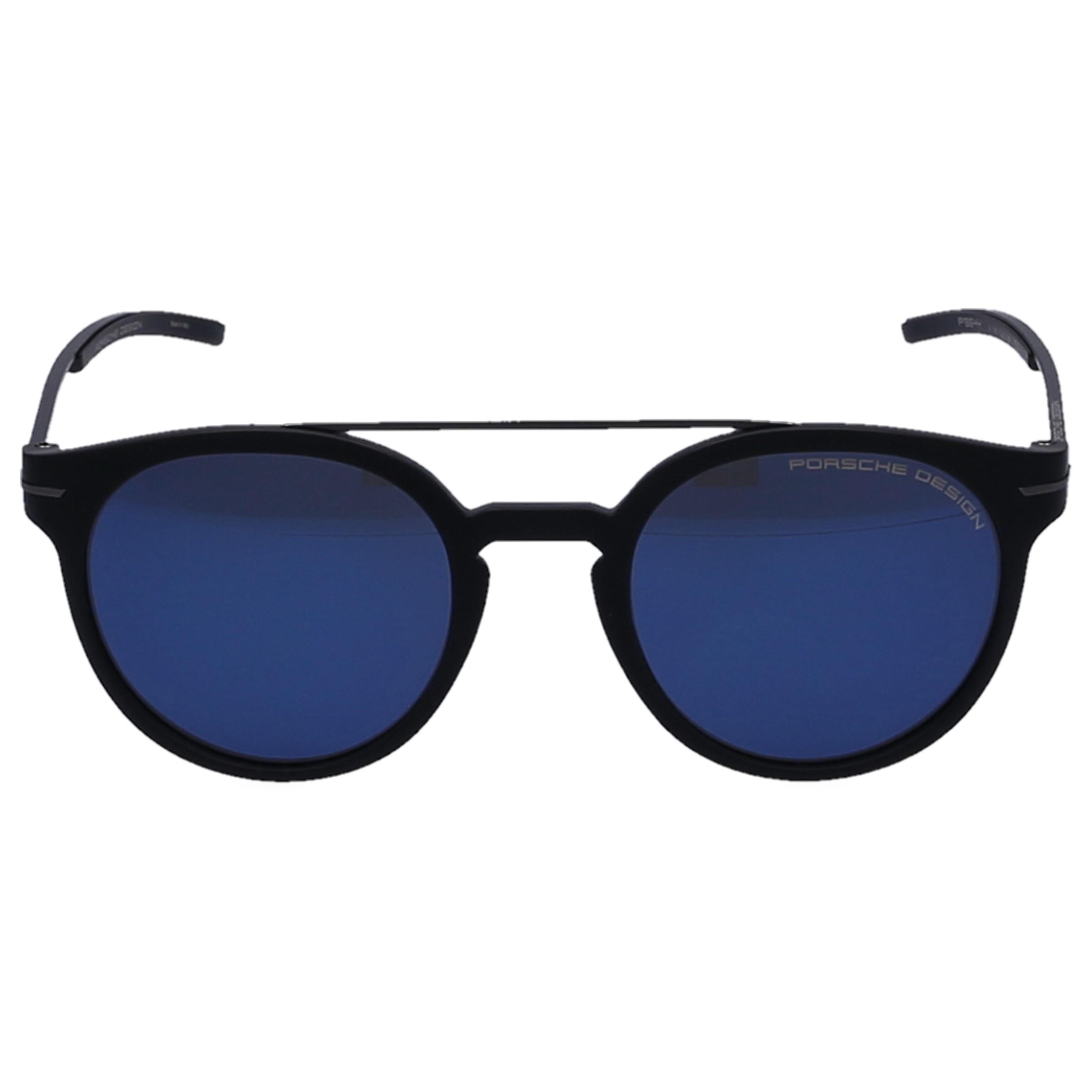 d5e8db76c8f Porsche Design. Men s Blue Sunglasses Clubmaster 8644 Metal Acetate Black