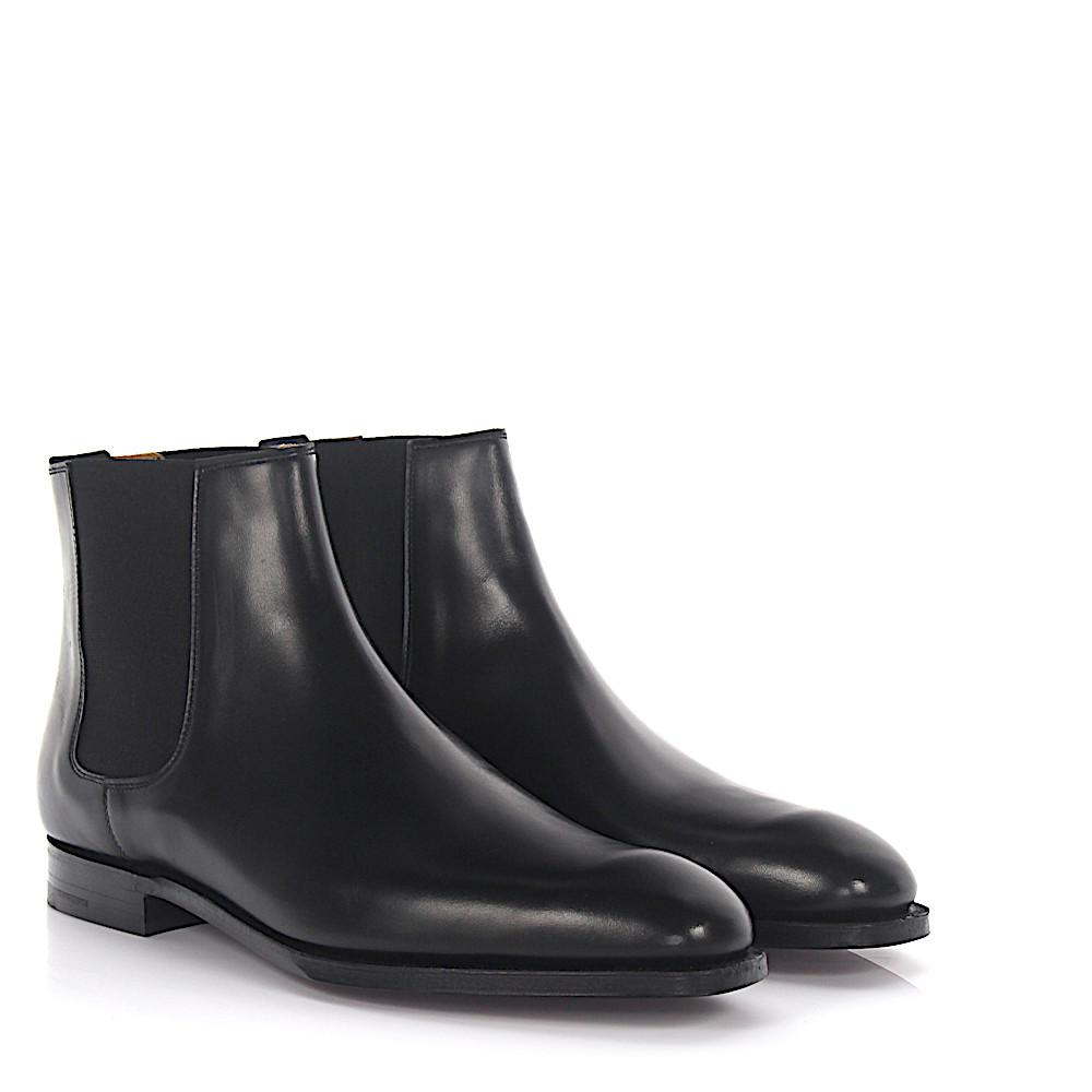 Crockett and Jones. Men's Chelsea Boots Cowdray Leather Black
