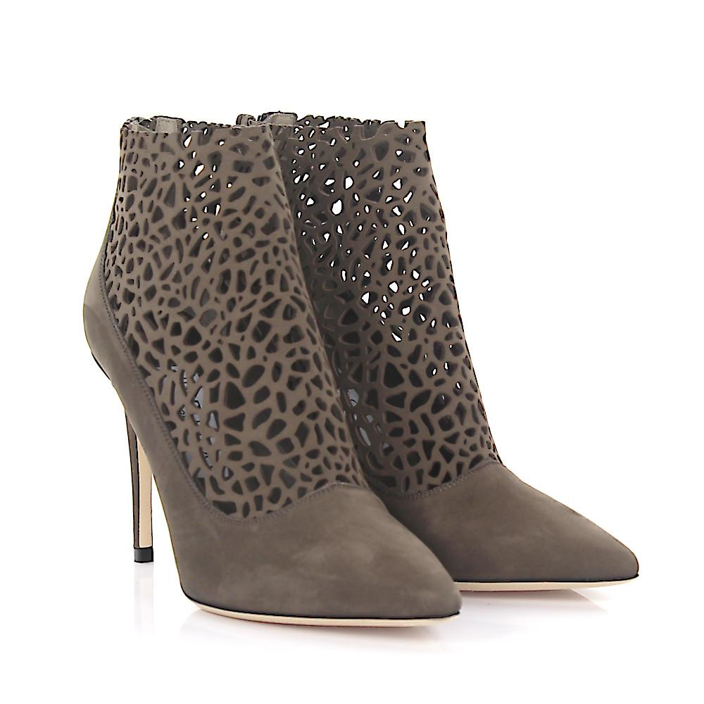 Jimmy Choo Perforated Leather Boots shop for cheap price BRhfni7