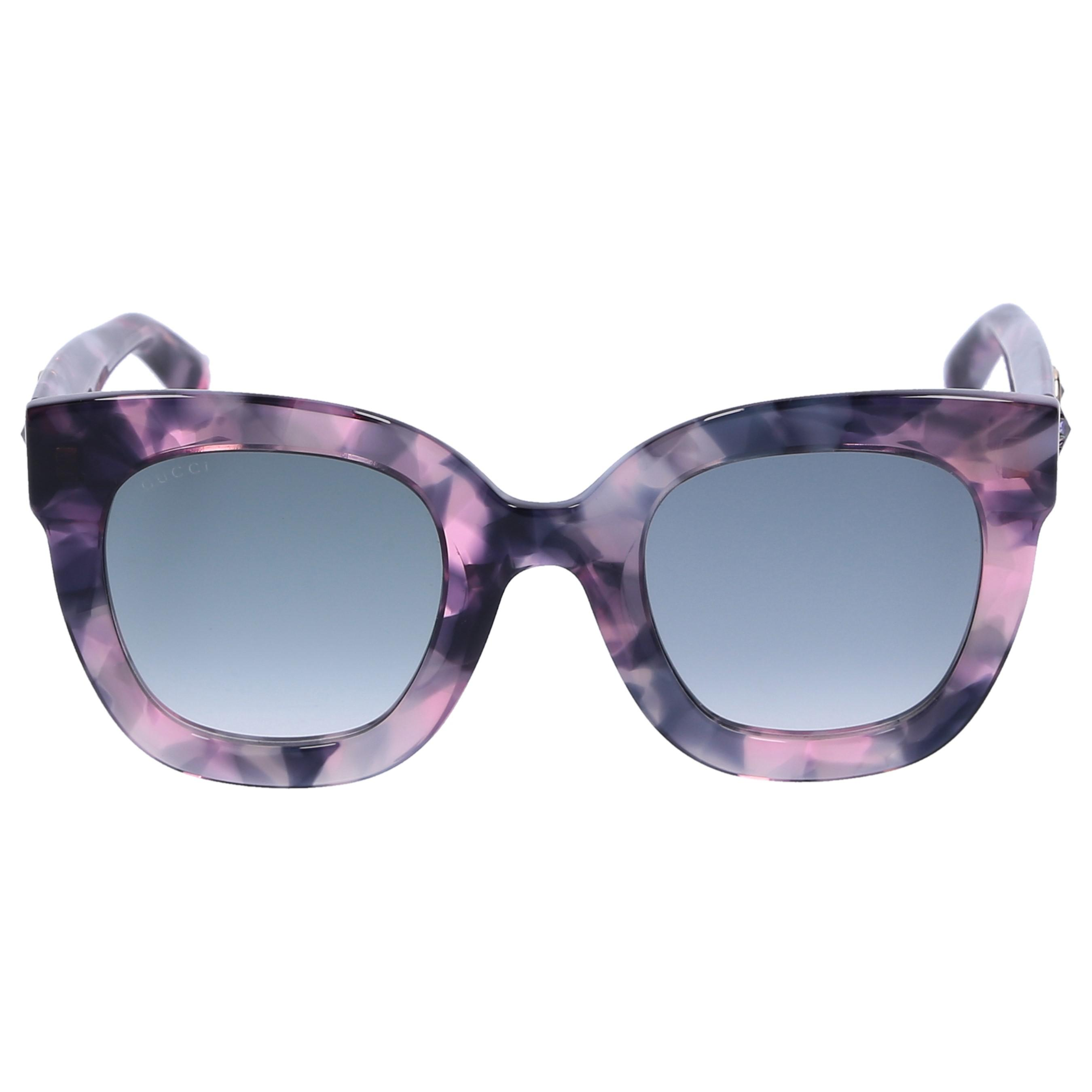 5bdc66ab6f6 Lyst - Gucci Women Sunglasses Square 208s Acetate Tortoiseshell Grey ...