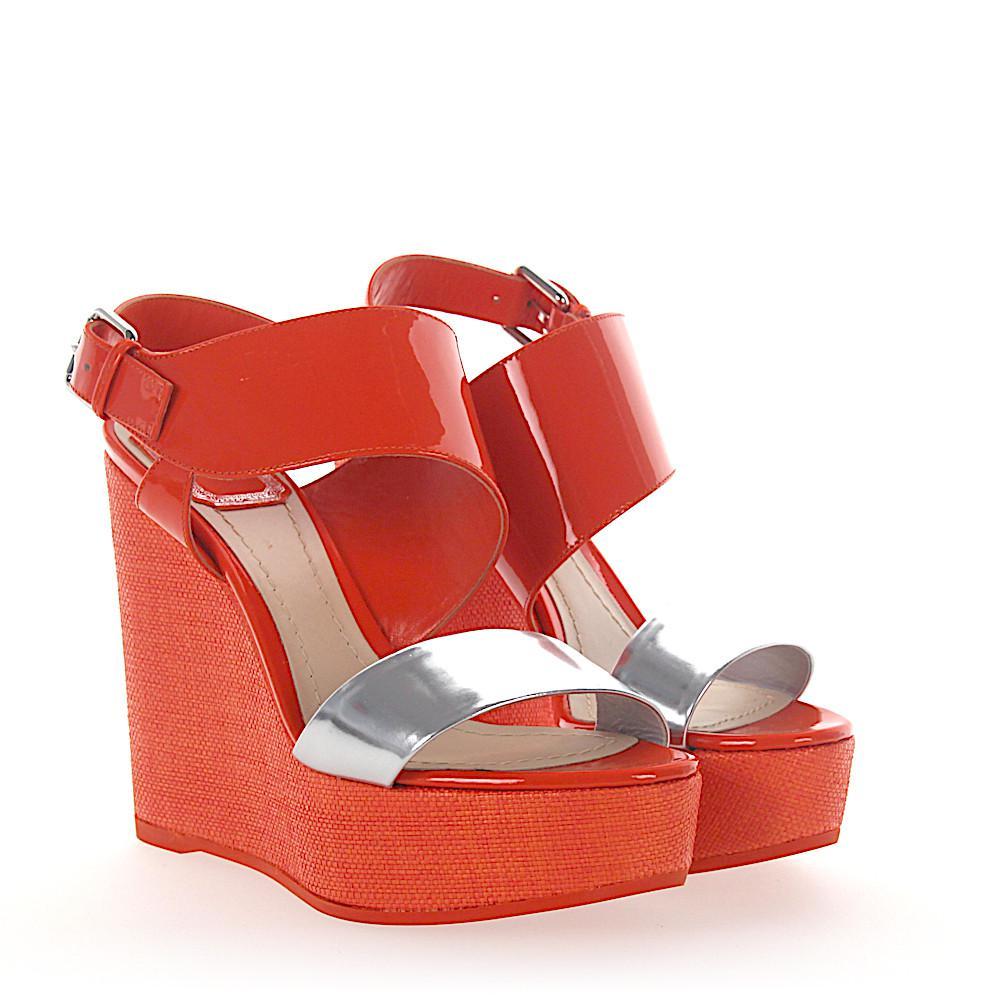 Dior Platform sandals MOOD patent leather uQSQ406n0
