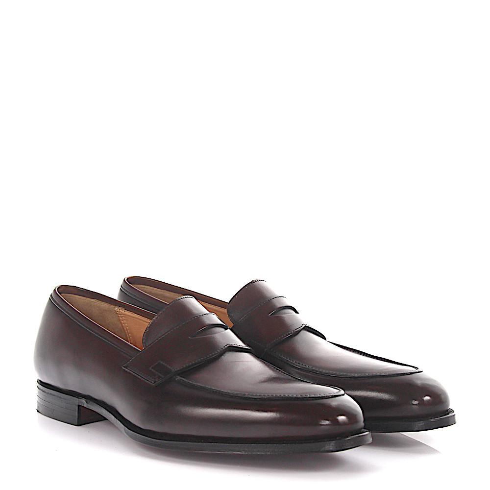 Crockett & Jones Penny loafer Crawford leather goodyear welted 1iJ2d