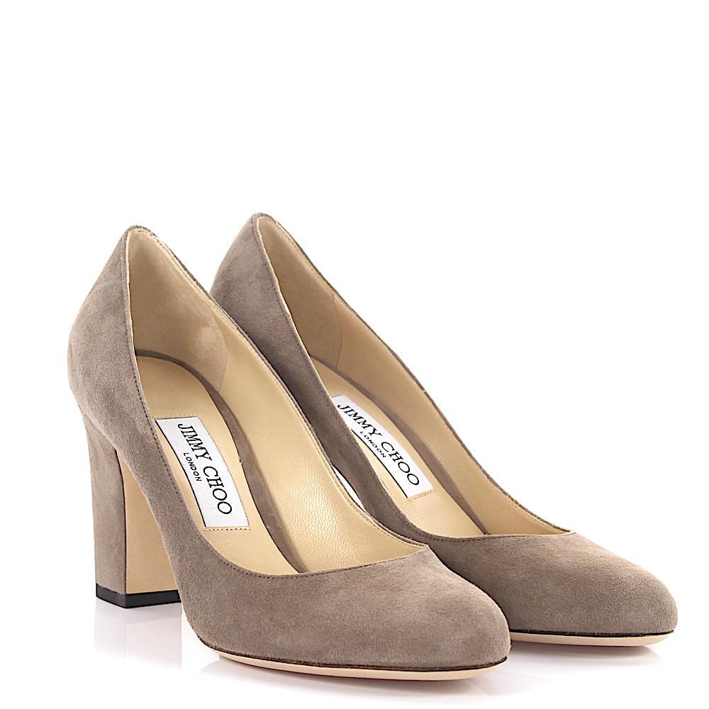 Jimmy choo Pumps Billie 85 suede mocca vWbUf5