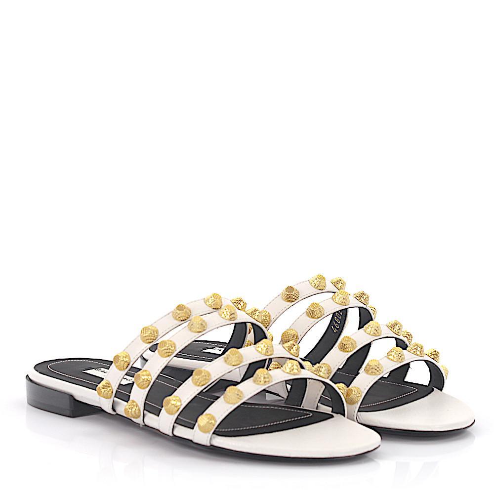 Lyst - Balenciaga Sandals in White