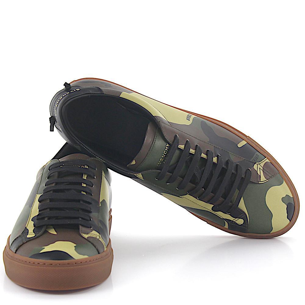 Jeu Vraiment En Ligne Pas Cher Authentique Chaussures De Sport Bas En Cuir Multicouleur Givenchy HHNdebn3Sg