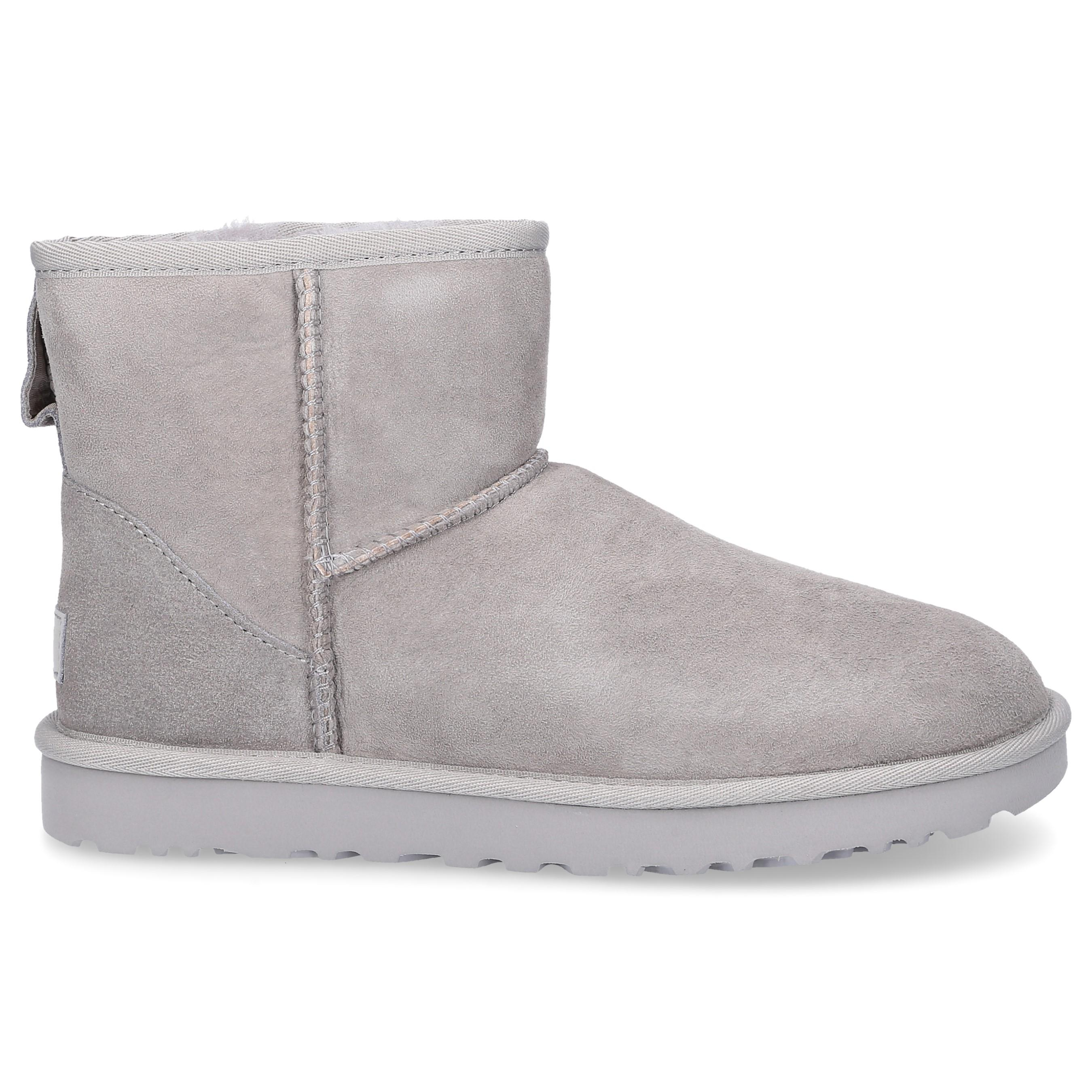 a5ff51007e1 UGG Ankle Boots Grey Classic Mini Ii in Gray - Lyst