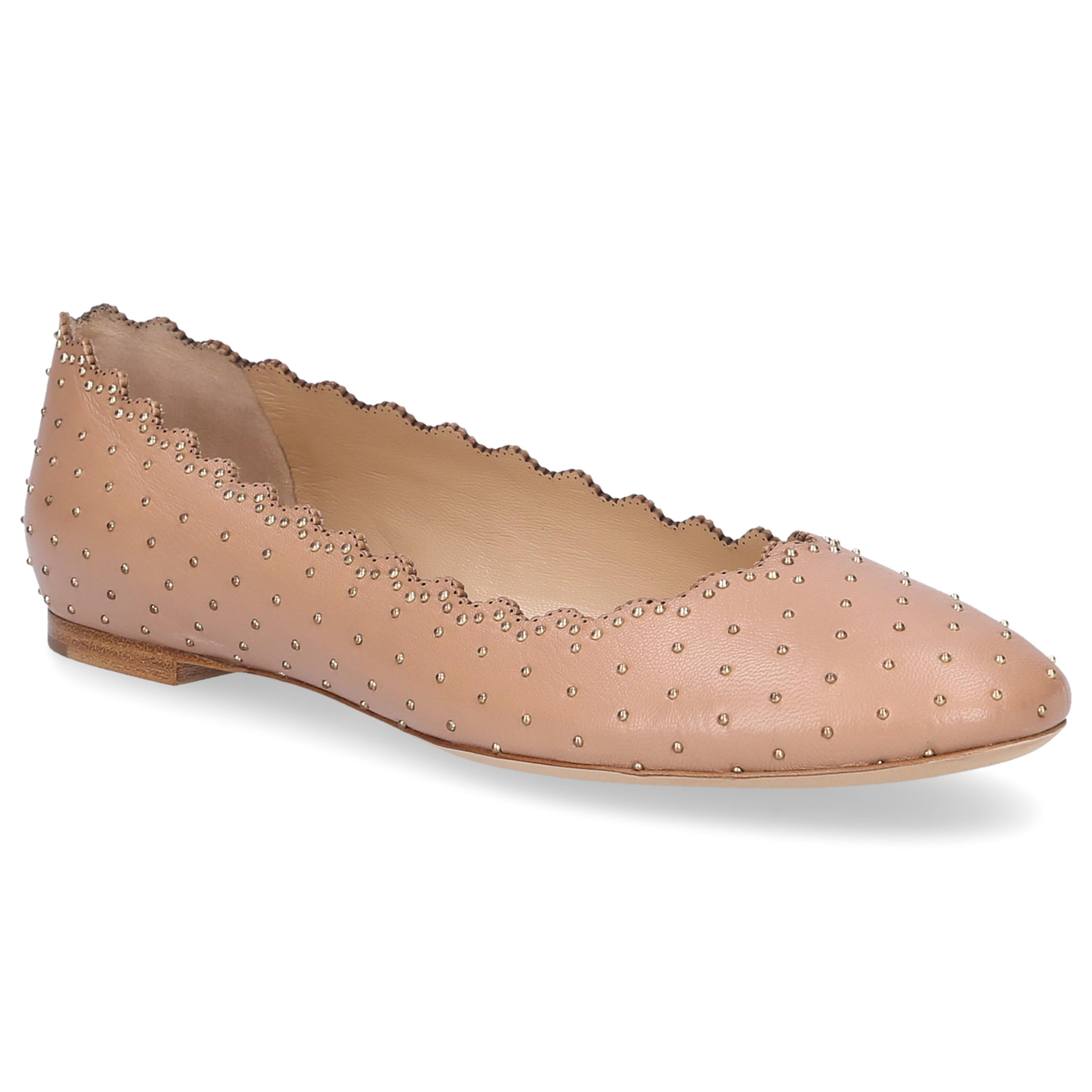 Cheap Limited Edition Cheap Lowest Price Chloé Ballet pumps nappa leather Rivets Release Dates For Sale Discount Low Cost xBME9k