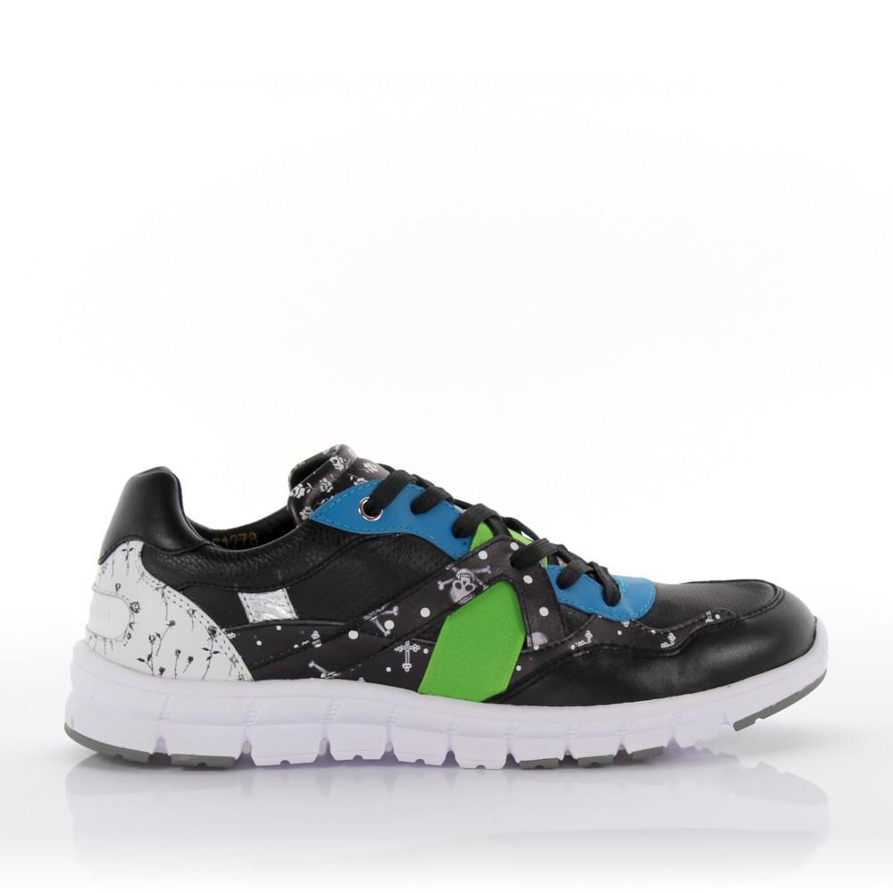 Sneakers New Jamaica leather Polyester black Dolce & Gabbana iOzMGwYB
