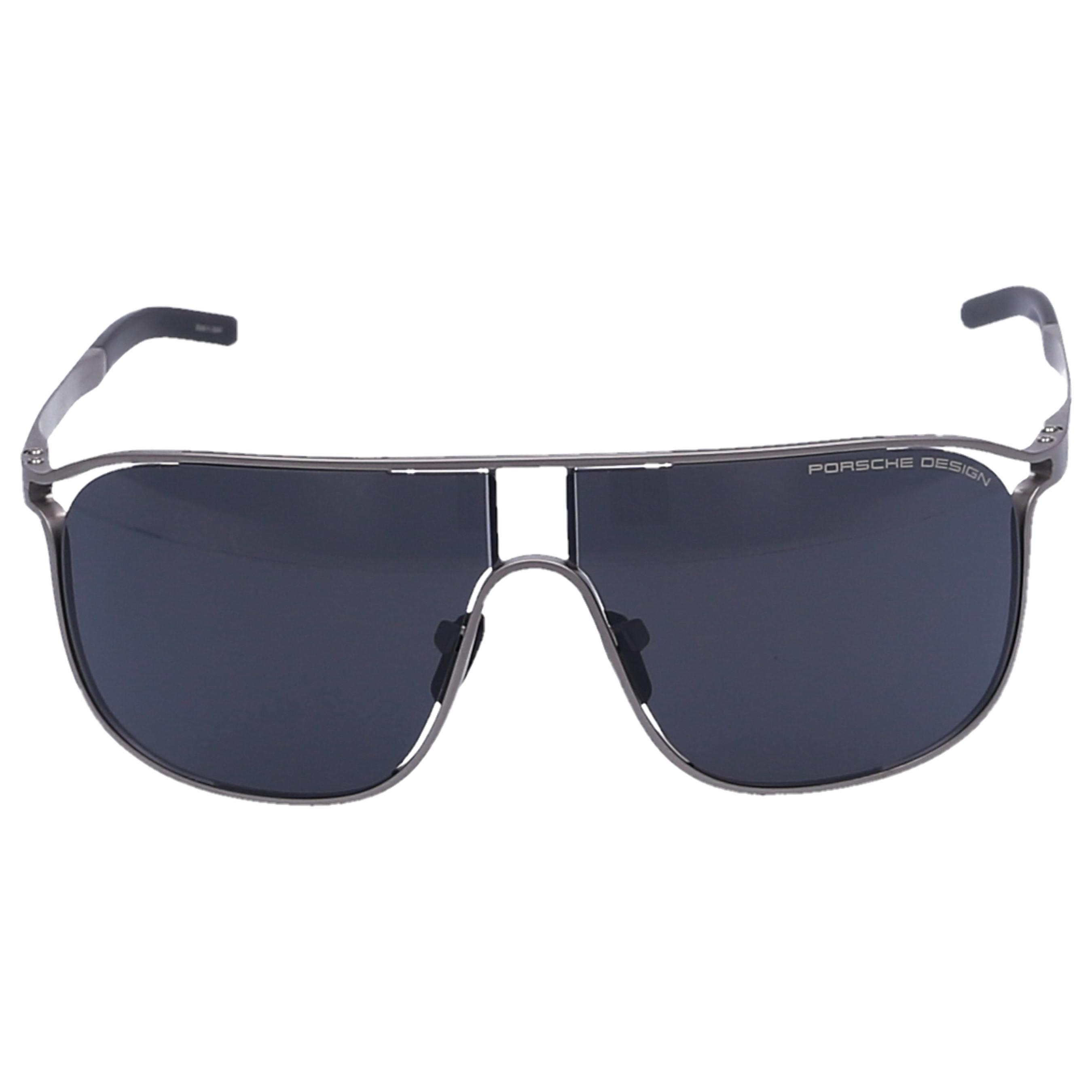 f1953d21416 Lyst - Porsche Design Men Sunglasses Aviator 8663 Titanium Silver in ...