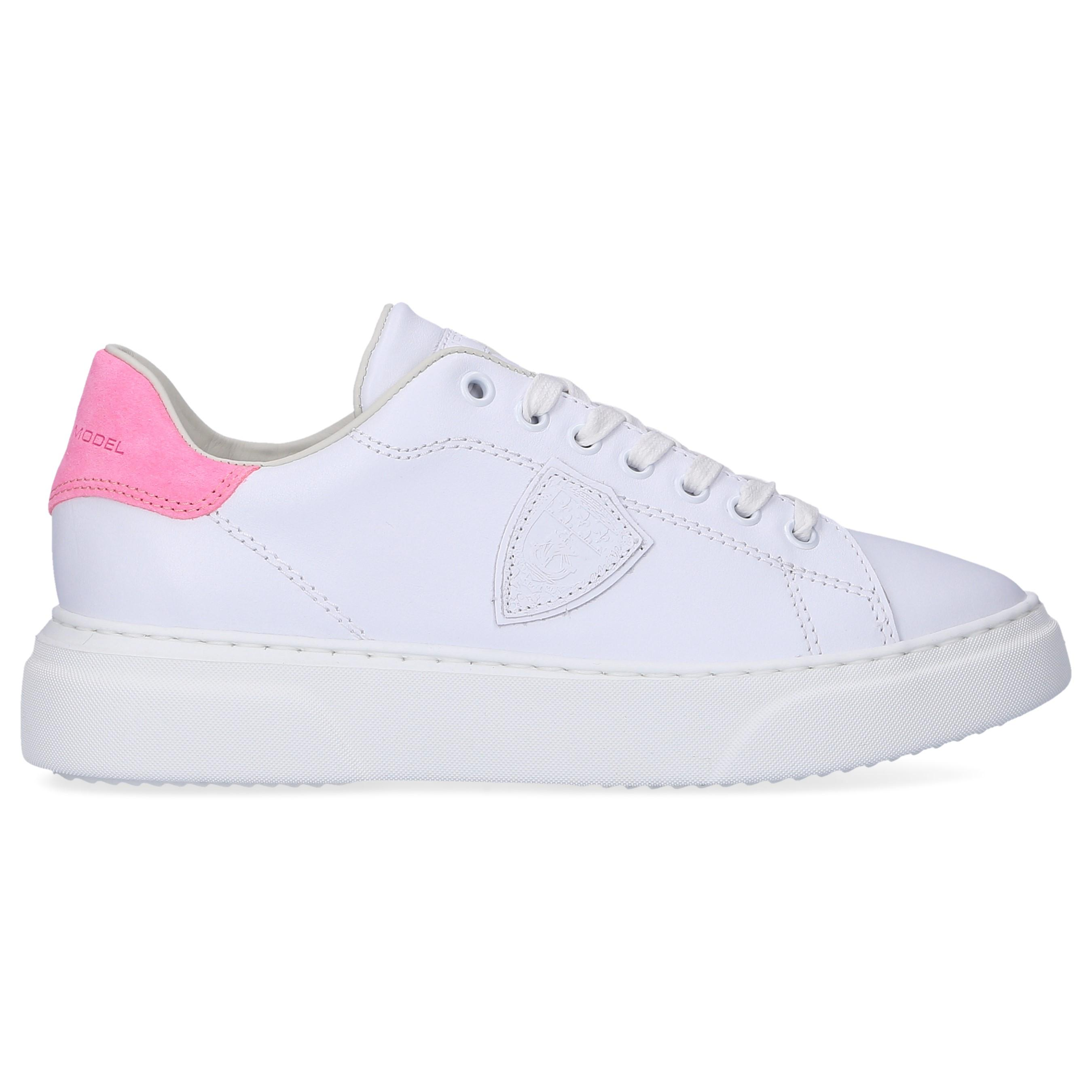 a9683ab89b6f Philippe Model Low-top Sneakers Temple Femme in White - Save 42% - Lyst