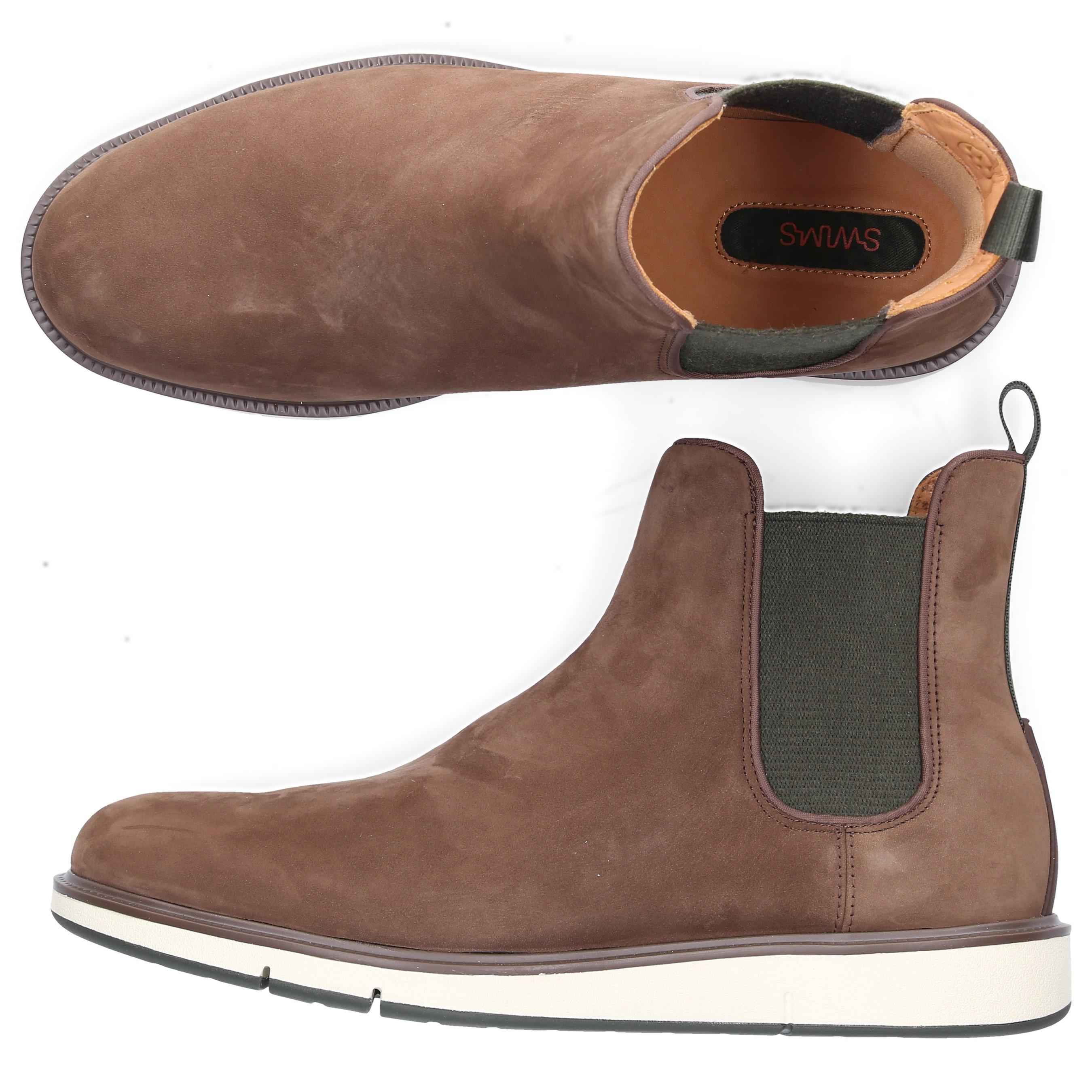 Swims Chelsea Stiefel Stiefel Chelsea Motion Chelsea Suede Braun in Braun for Men ... 362cfc