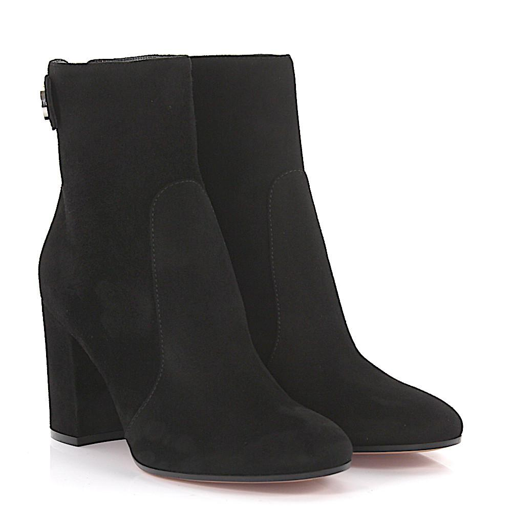 Gianvito Rossi Ankle boots Lindon Bootie suede RuULfPKM3