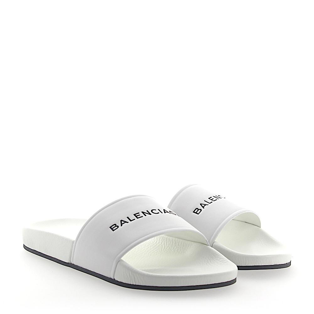 Balenciaga Sandals WAL00 nappa leather Embossing Logo 9ctumibx9e