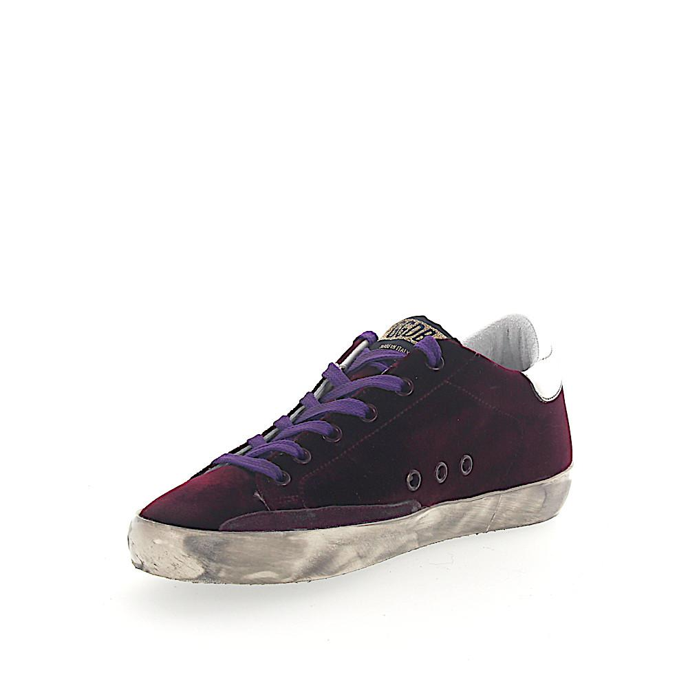 Deluxe Leather Suede Gloves: Golden Goose Deluxe Brand Trainers Suede Bordeaux Star