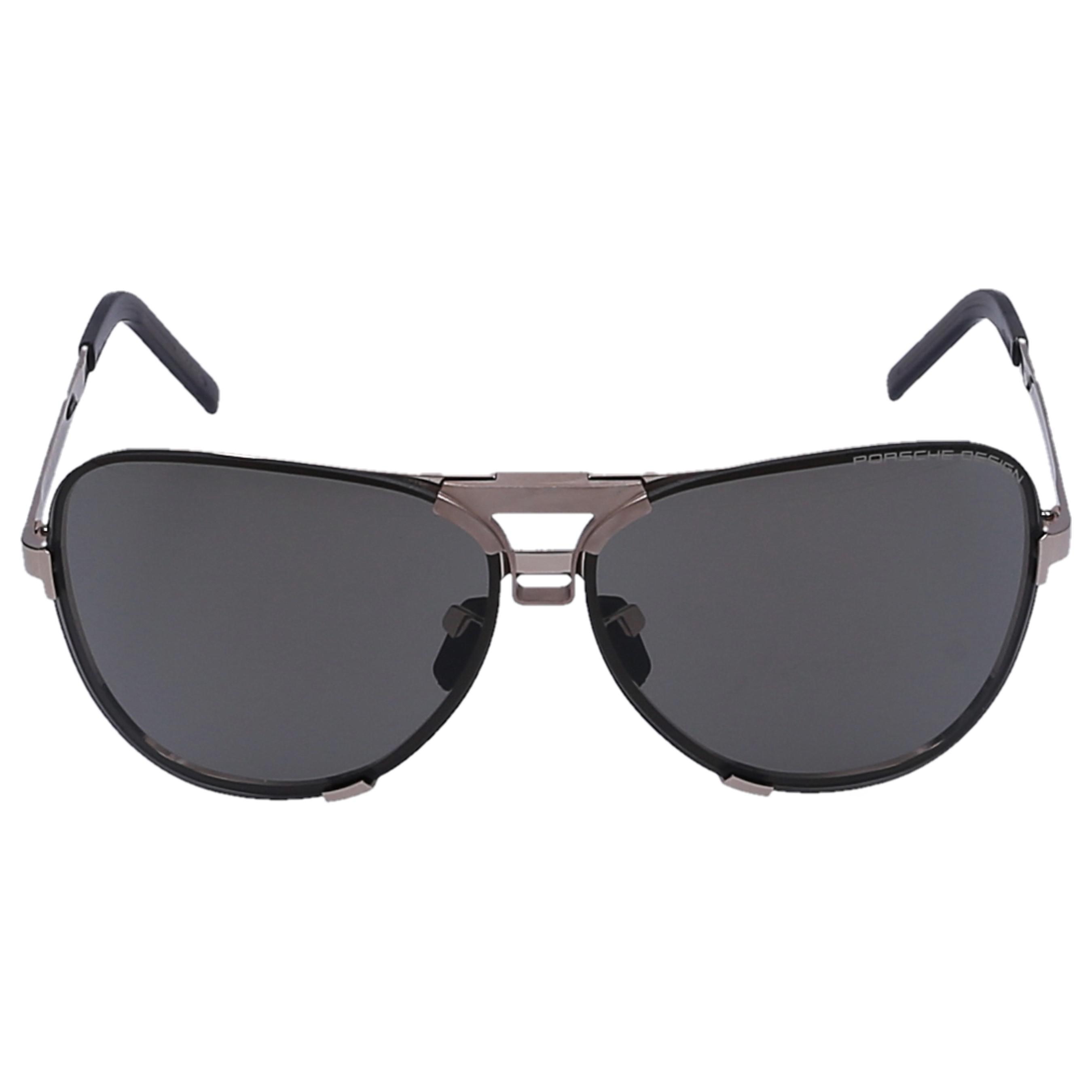 2c6633db3e0 Lyst - Porsche Design Men Sunglasses Aviator 8678 Titan Acetate Gold ...