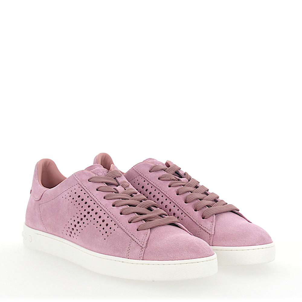 Tod's Sneakers A0T490 suede perforation GncUz