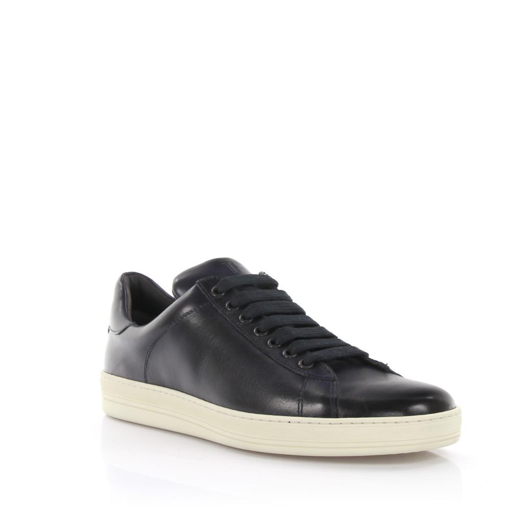 Tom Ford Sneakers leather darkblue ICODuh6