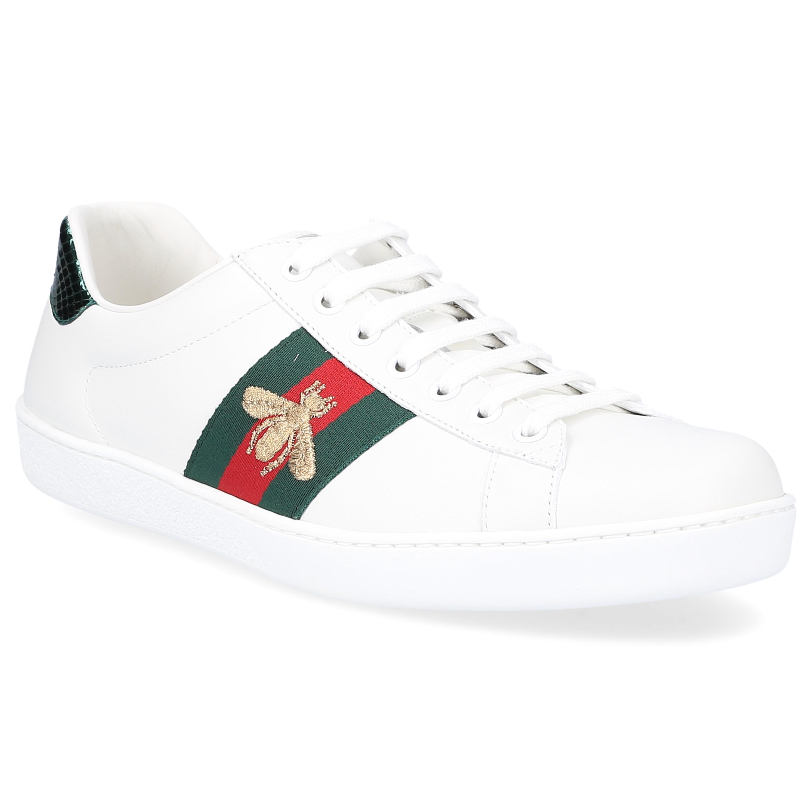 Sneaker low ACE calfskin Embroidery Gucci woven-details Logo black Gucci 48h8prz
