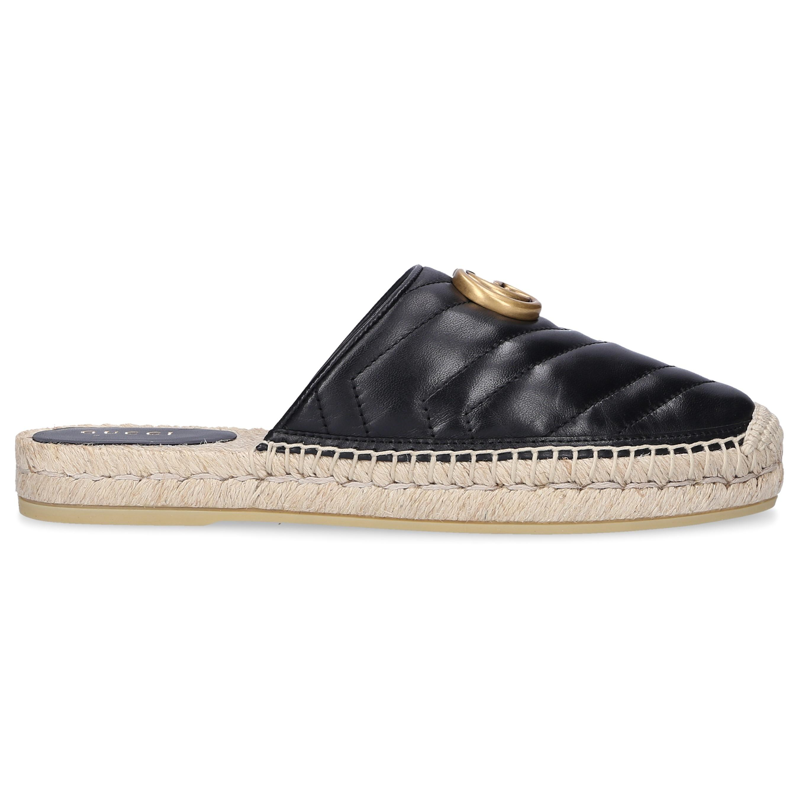 64e35c2a0 Gucci - Black Slip On Shoes Bko00 - Lyst. View fullscreen