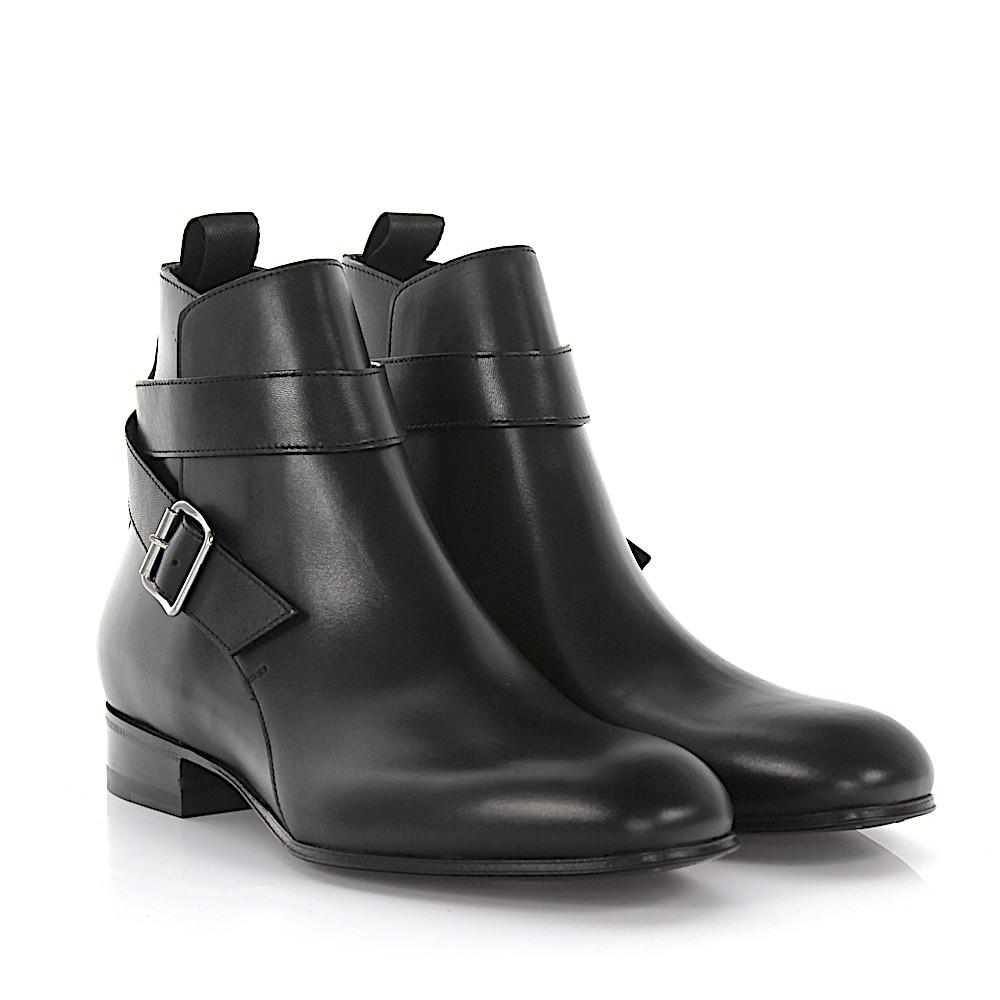 Balenciaga Boots Classic City Business Booty leather MhsQO23tB