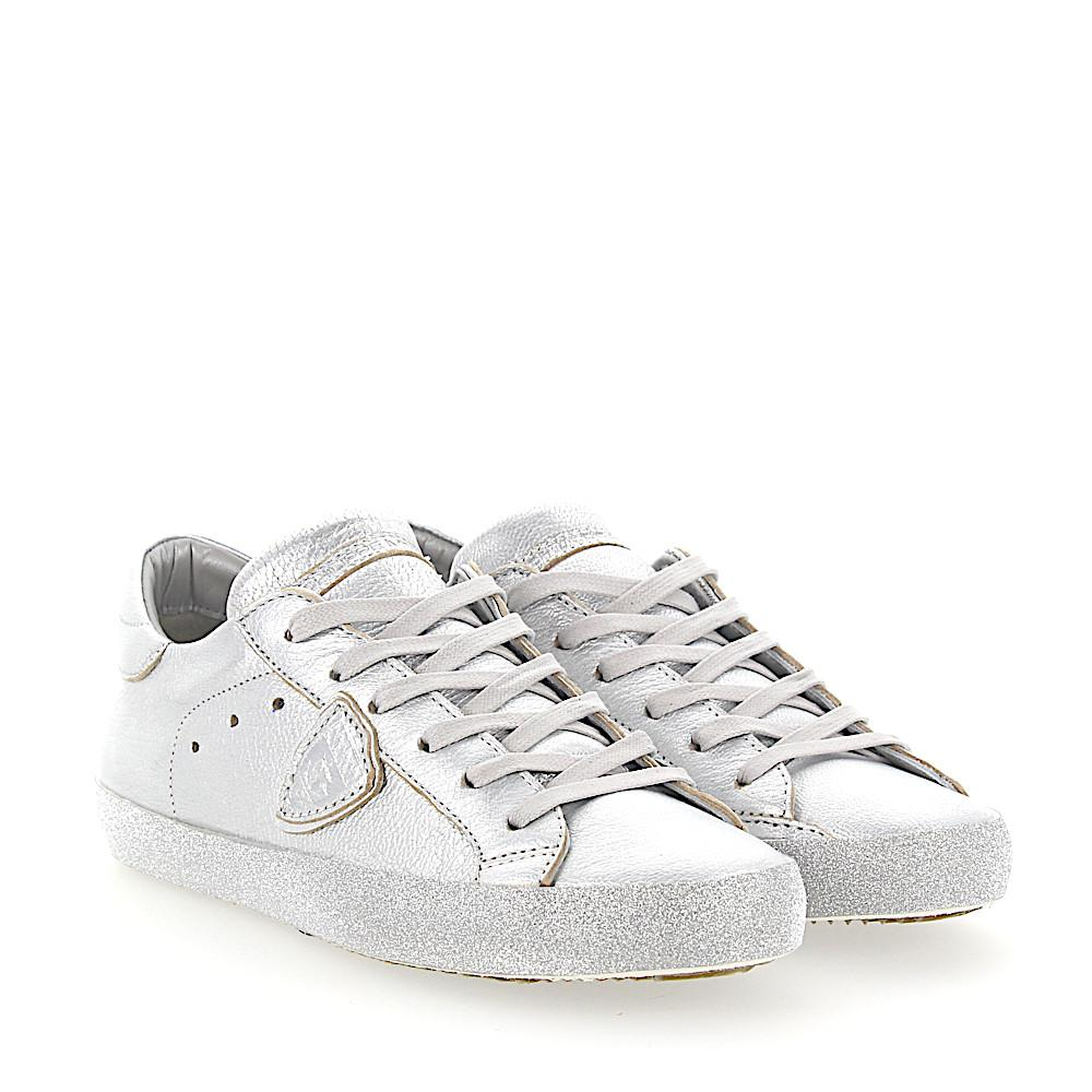 Philippe model Sneakers PARIS leather metallic glitter Orvdx