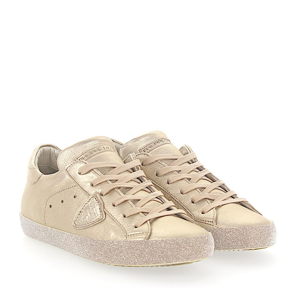 best service 7f64d f3444 philippe-model-gold-Sneakers-Paris-Leather-Gold-Metallic-Glitter.jpeg