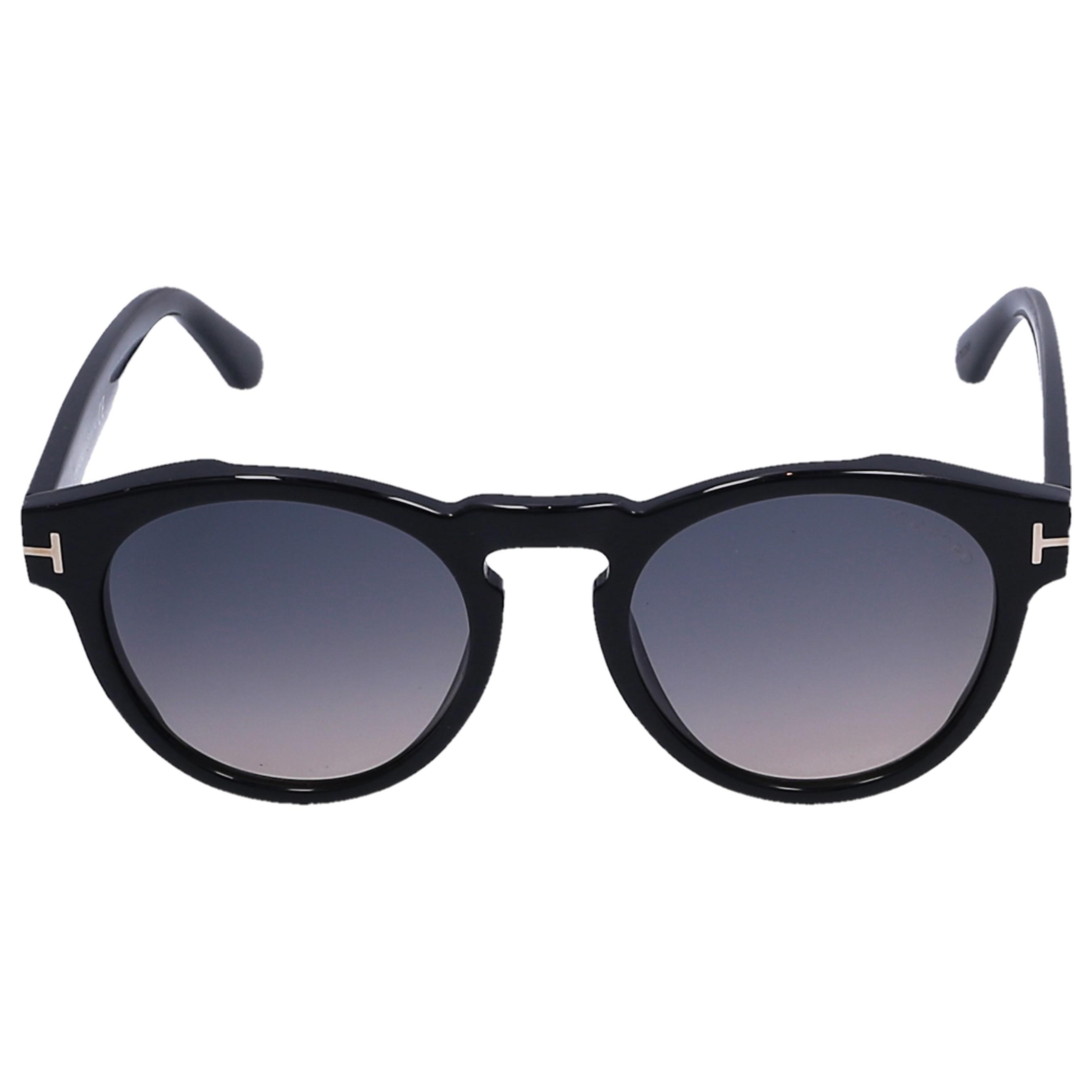 c10e45ba8f Lyst - Tom Ford Sunglasses Round 615 Acetate Black in Blue