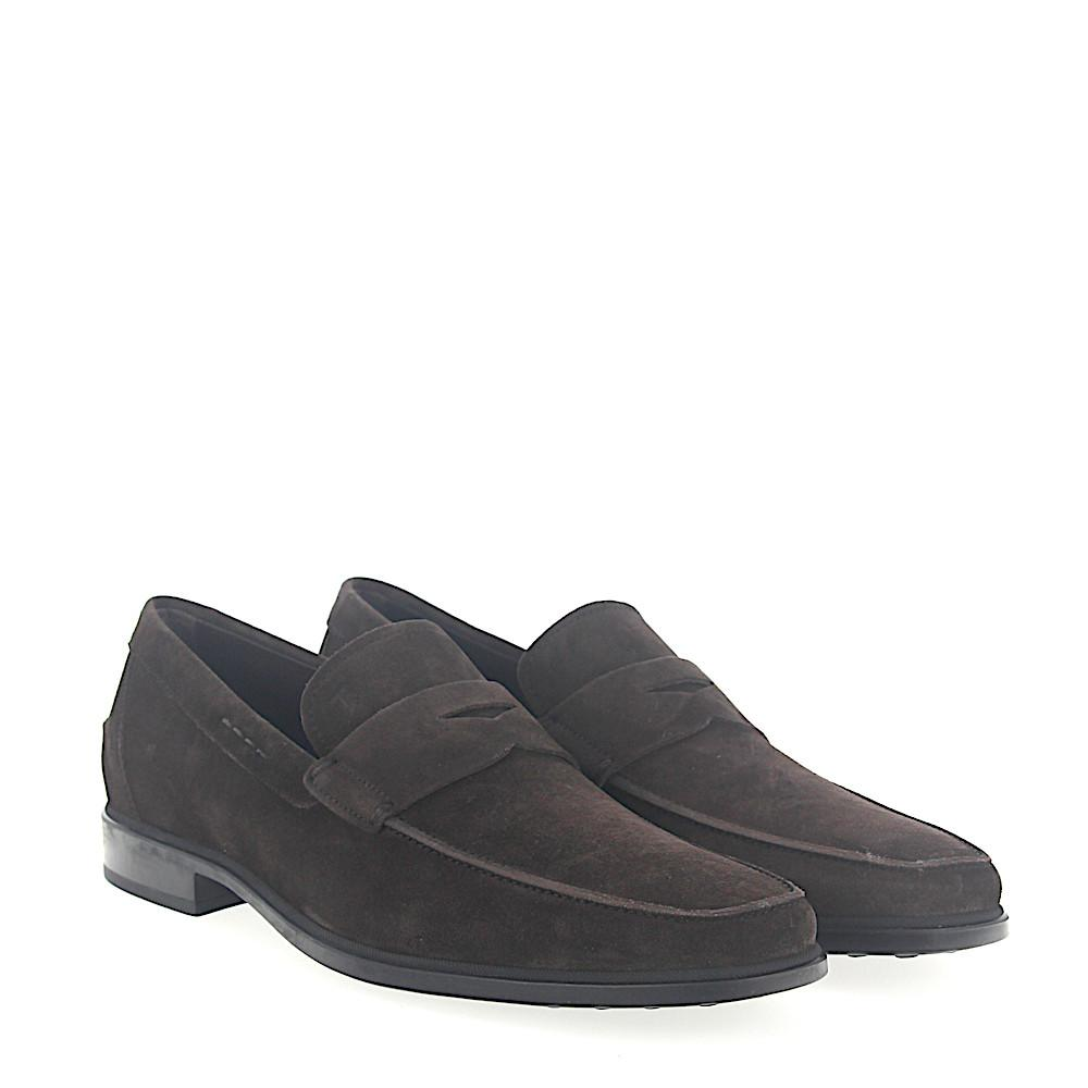 Penny Loafer A00640 suede brown Tod's 7kshbe6j