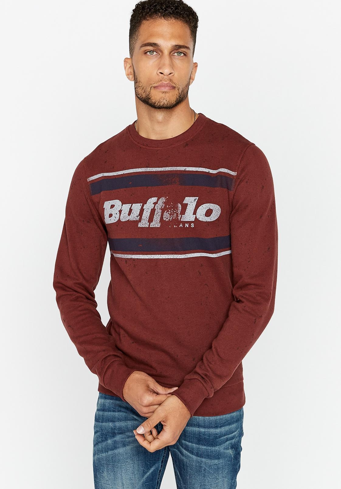 4e74342992 Lyst - Buffalo David Bitton Fylage in Red for Men