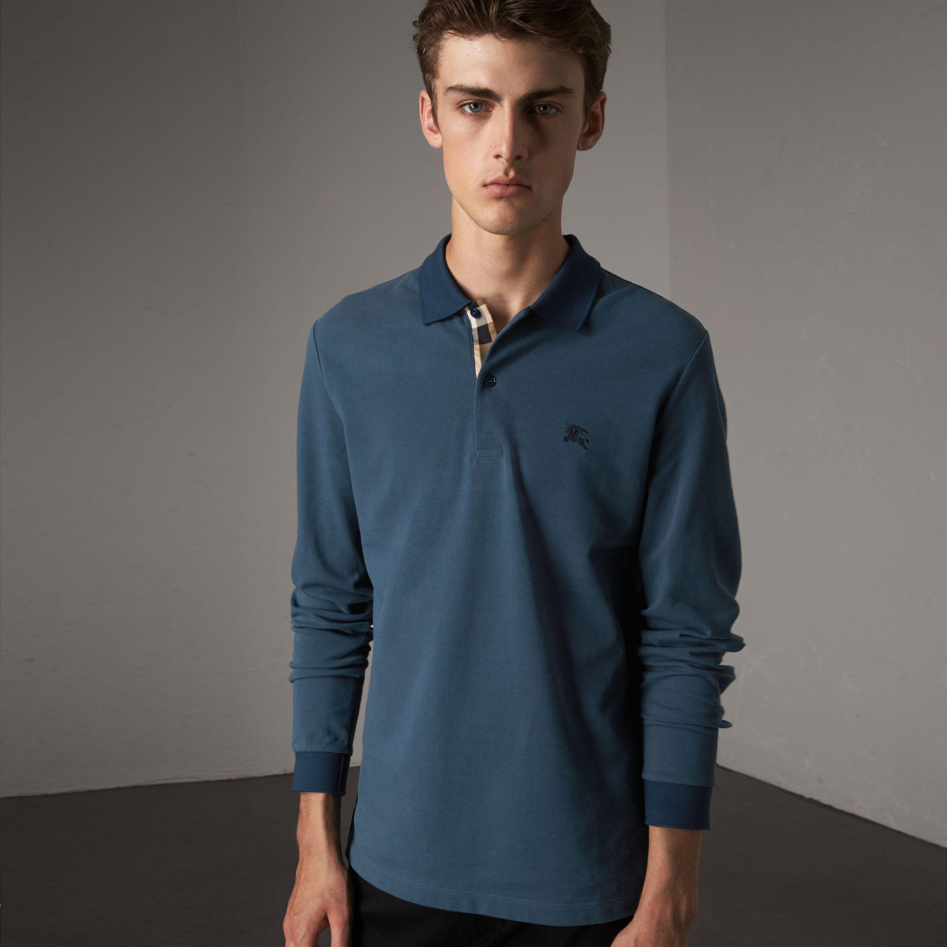 7d30bac64879 Burberry Brit Mens Short Sleeve Cotton Pique Polo Shirt - BCD Tofu House