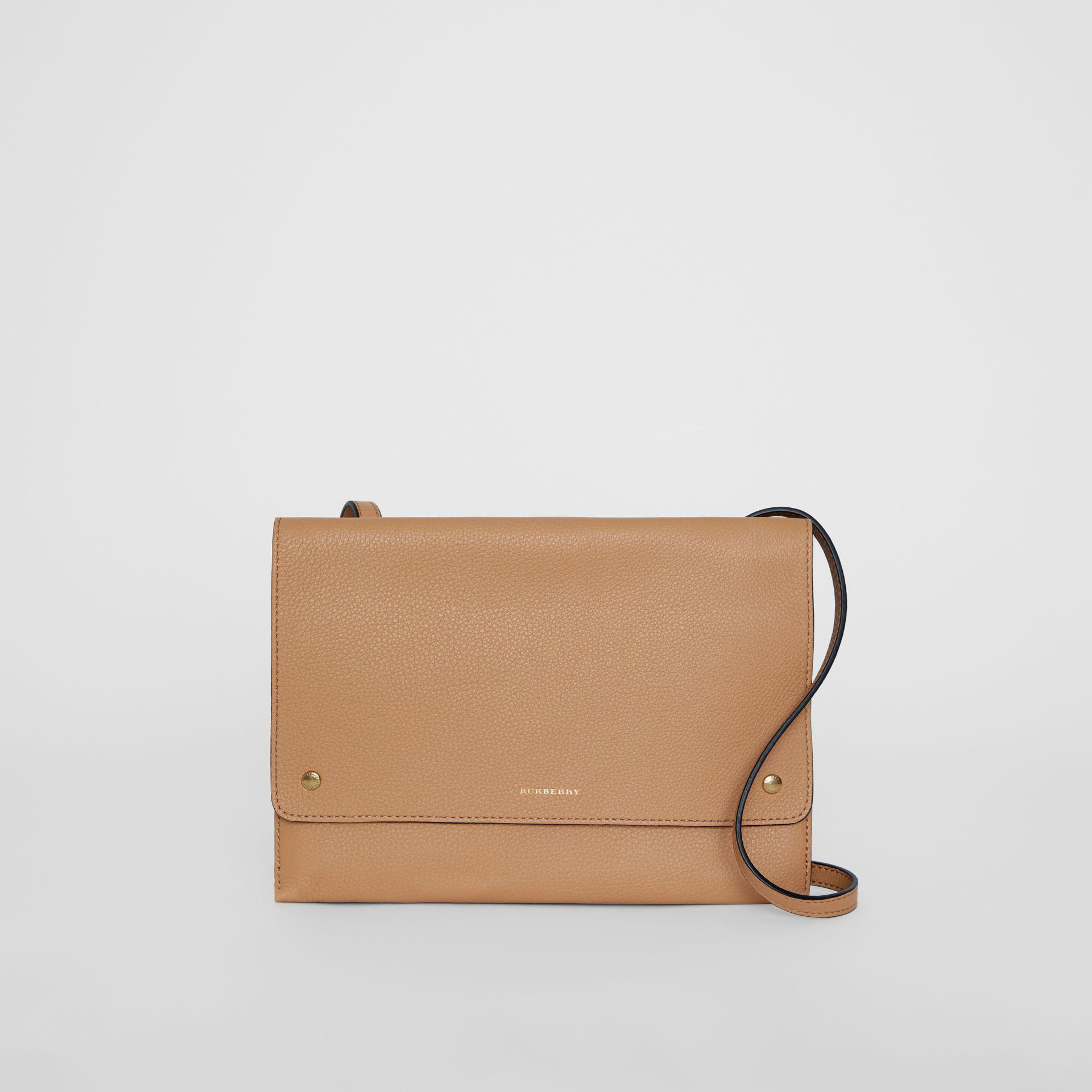 Lyst - Burberry Leather Envelope Crossbody Bag 38feda397b