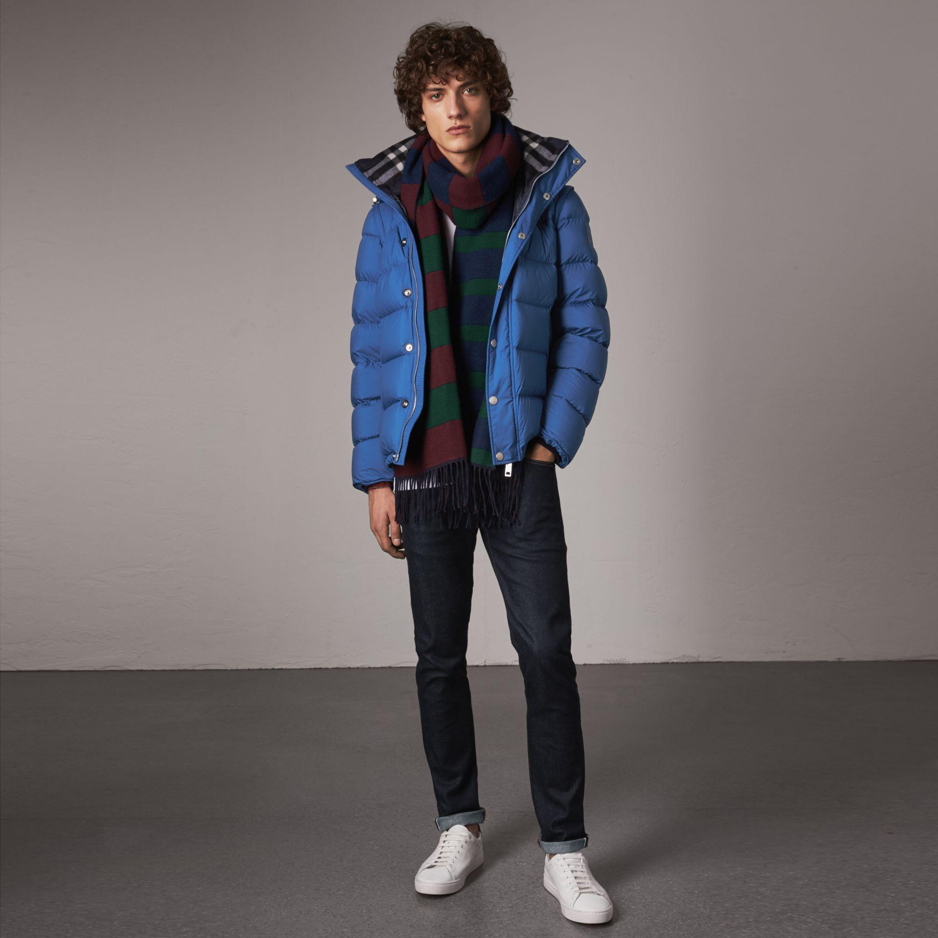 98cf7ecb7a2 Burberry Detachable-sleeve Down-filled Puffer Jacket in Blue for Men ...