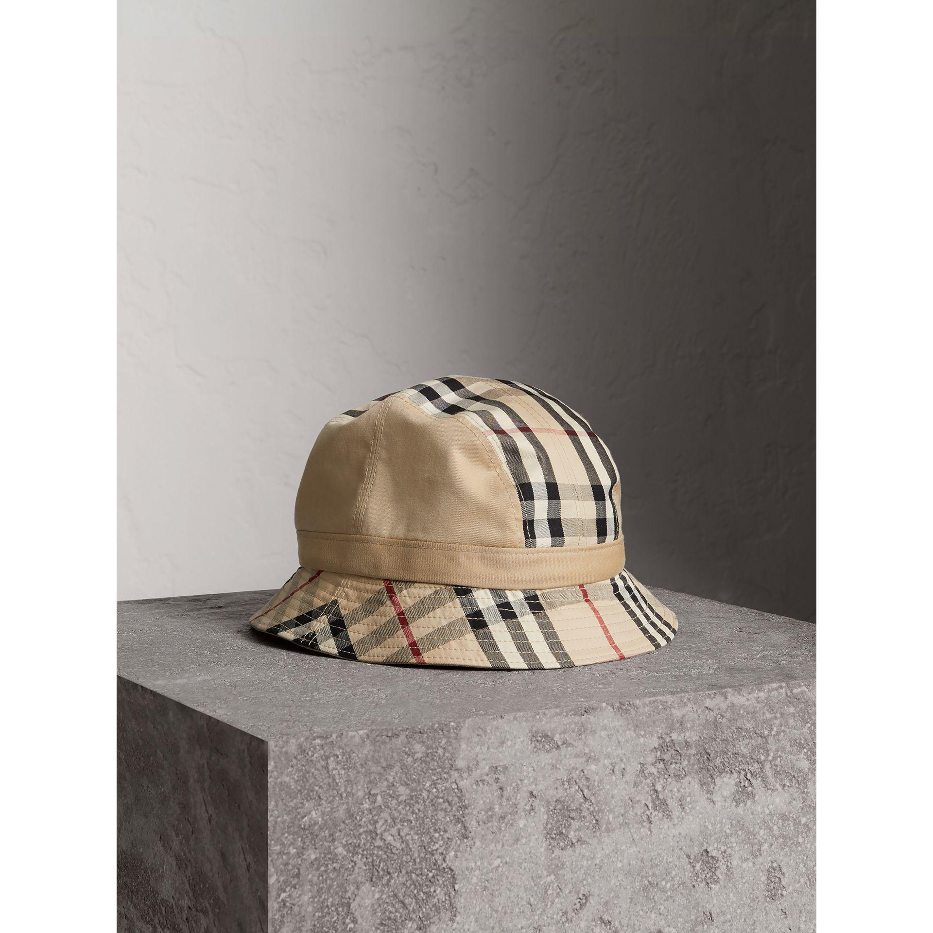 Lyst - Burberry Gosha X Bucket Hat for Men 1b4c6bfb624