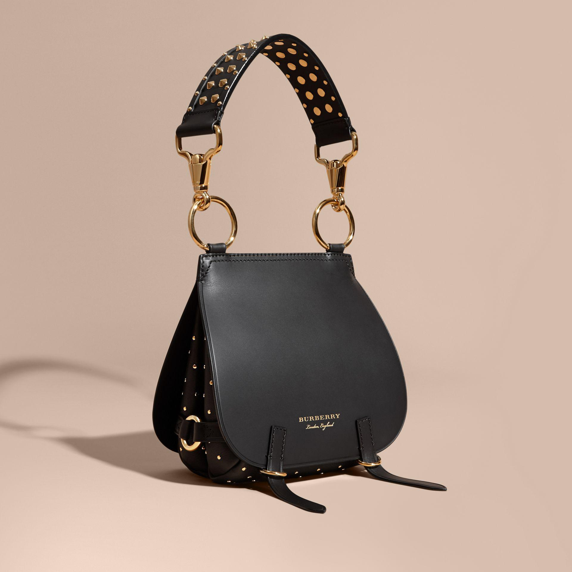 29a7b941902 Burberry Medium Grainy Leather Tote Bag Black. Burberry The Medium Bridle  In Leather Men Bags