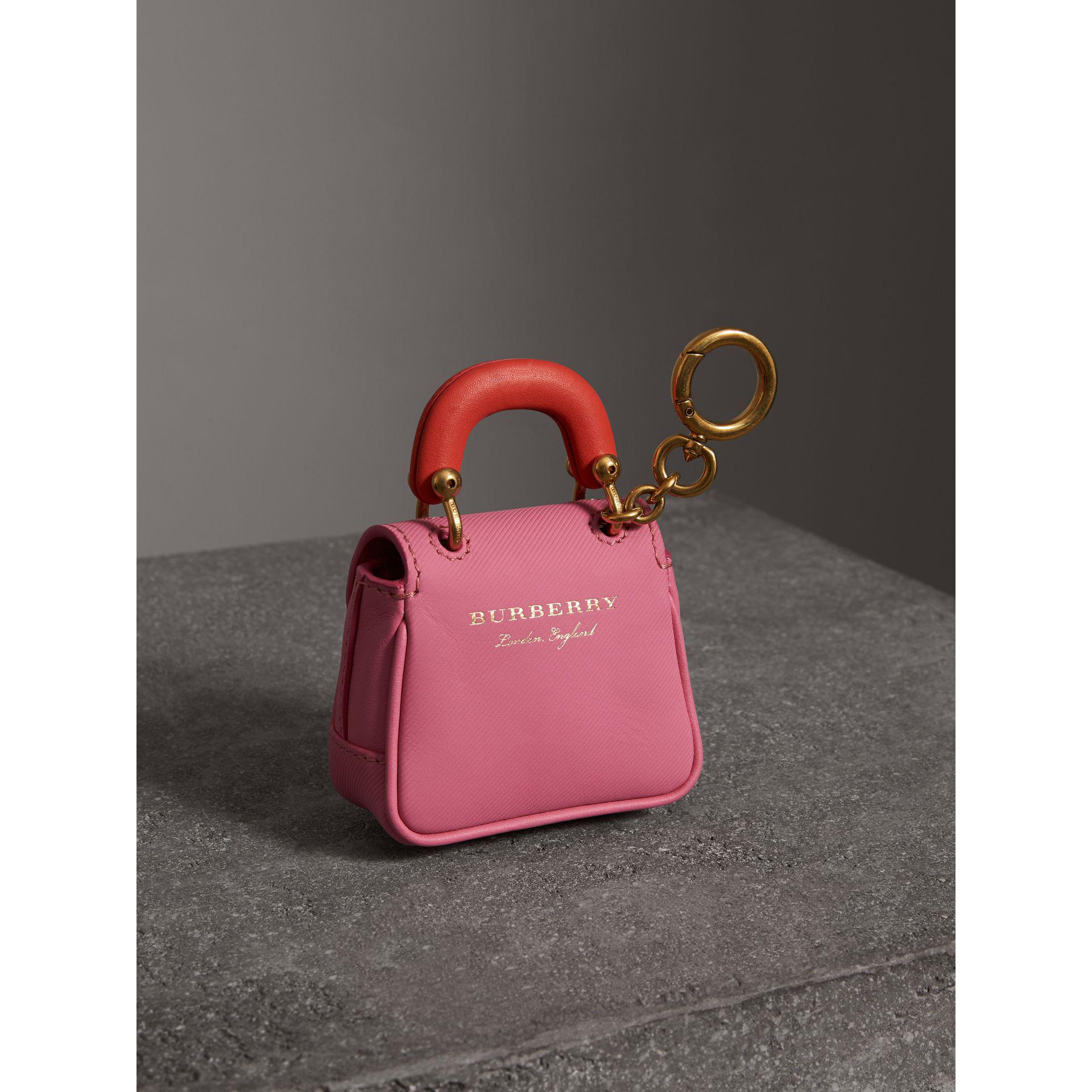 c77d5dfcec2b Lyst - Burberry The Dk88 Charm in Pink