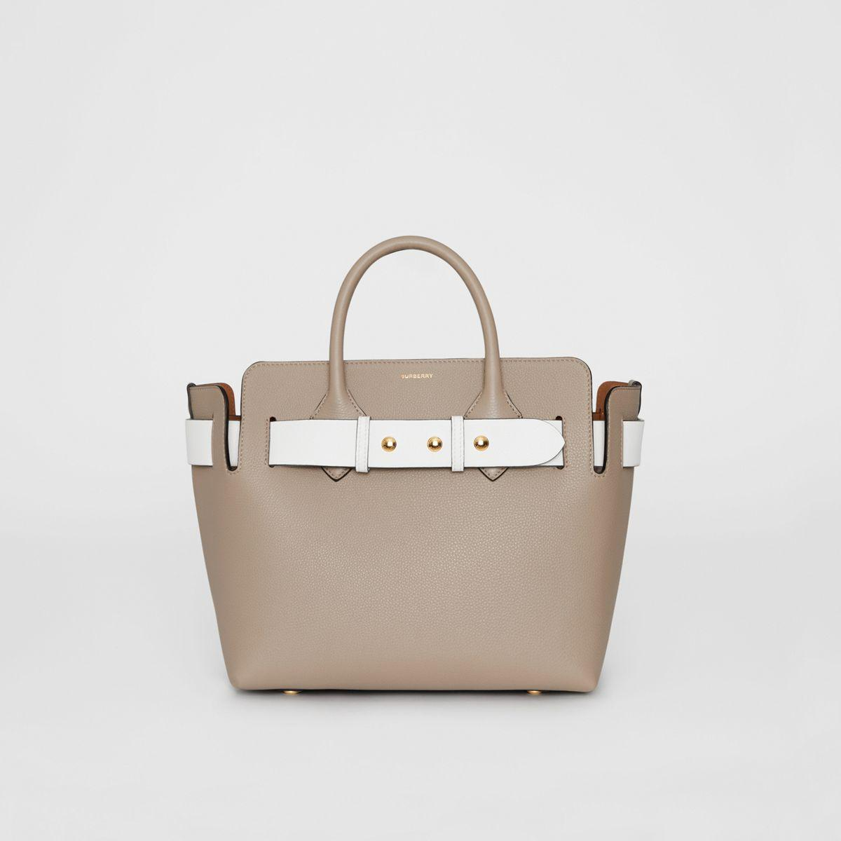 b0aae8ea27d1 Burberry - Gray The Medium Tri-tone Leather Triple Stud Belt Bag - Lyst.  View fullscreen