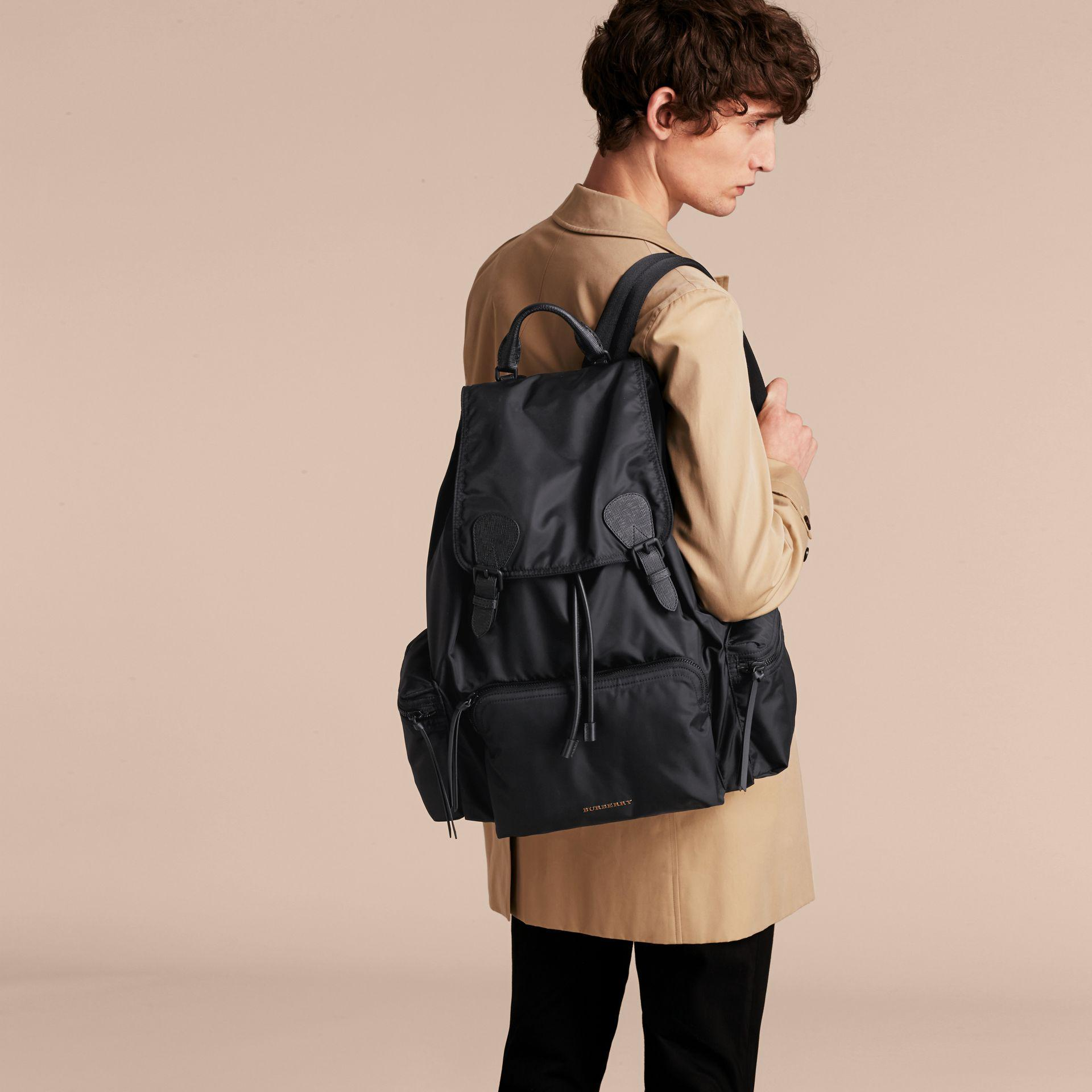 b023f204c665 Burberry The Extra Large Rucksack In Technical Nylon And Leather in ...