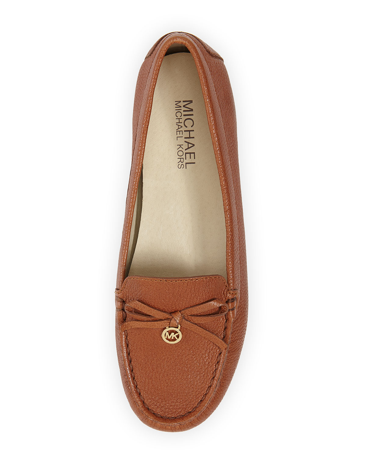 cb44044508b Lyst - MICHAEL Michael Kors Everett Leather Moccasins in Brown