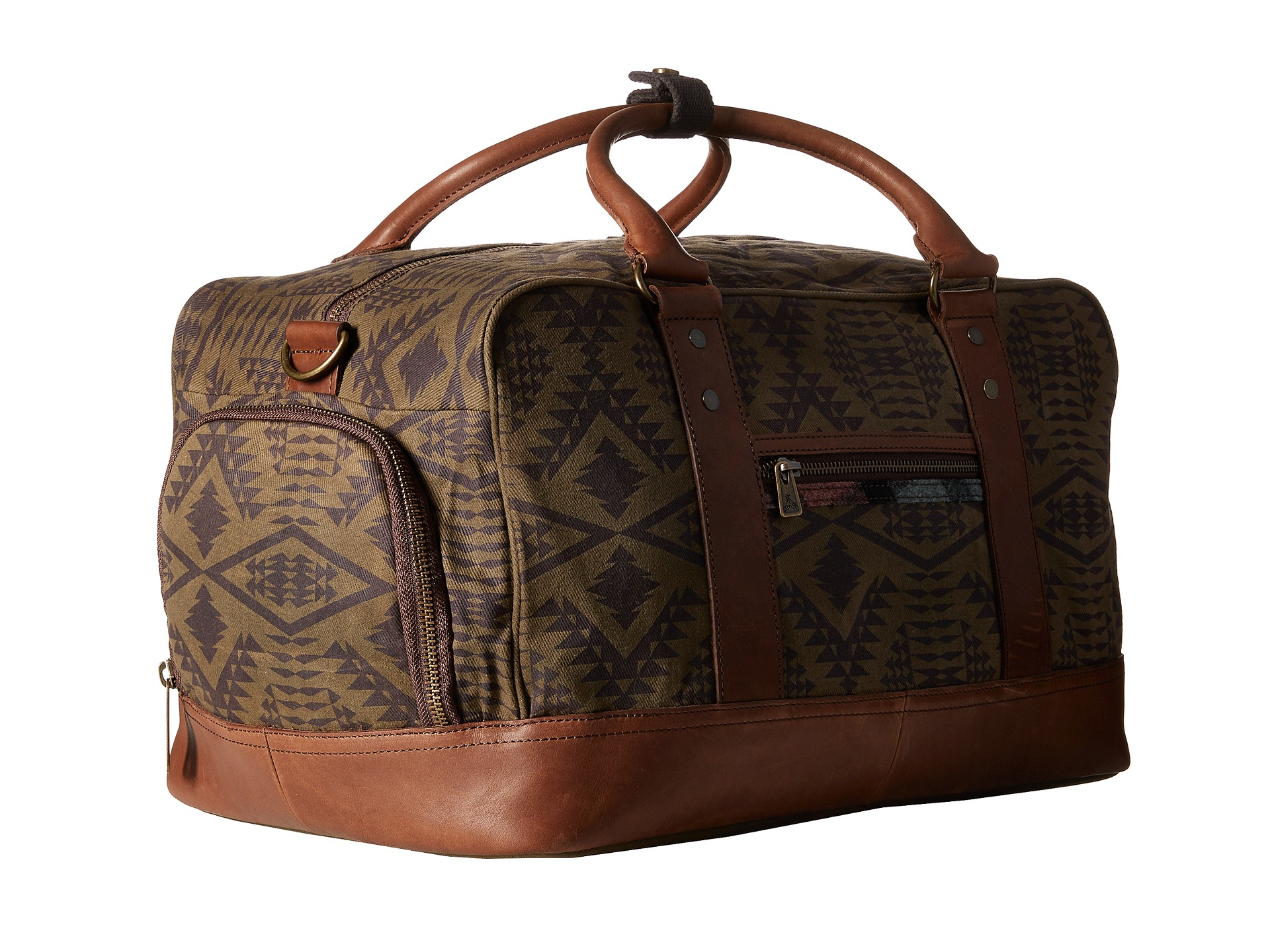 Lyst - Pendleton Carry-on Duffle Bag in Brown 659cf8f184