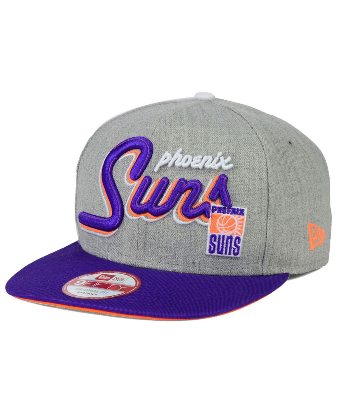 sale retailer b7295 8ba06 ... france lyst ktz phoenix suns hwc the heather bright nights 9fifty 20dc8  a4519
