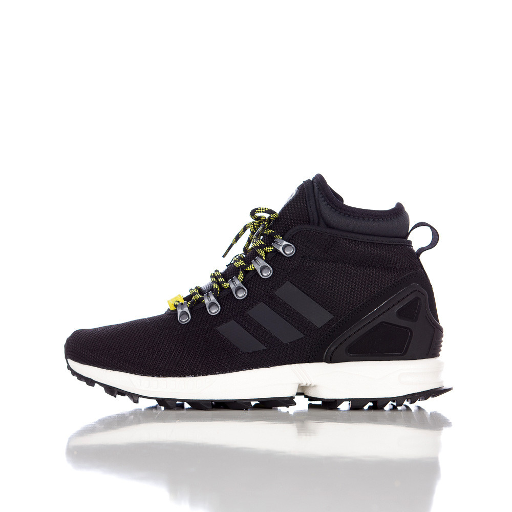 173bab7e4 Lyst - adidas Zx Flux Winter Mesh Boots in Black for Men