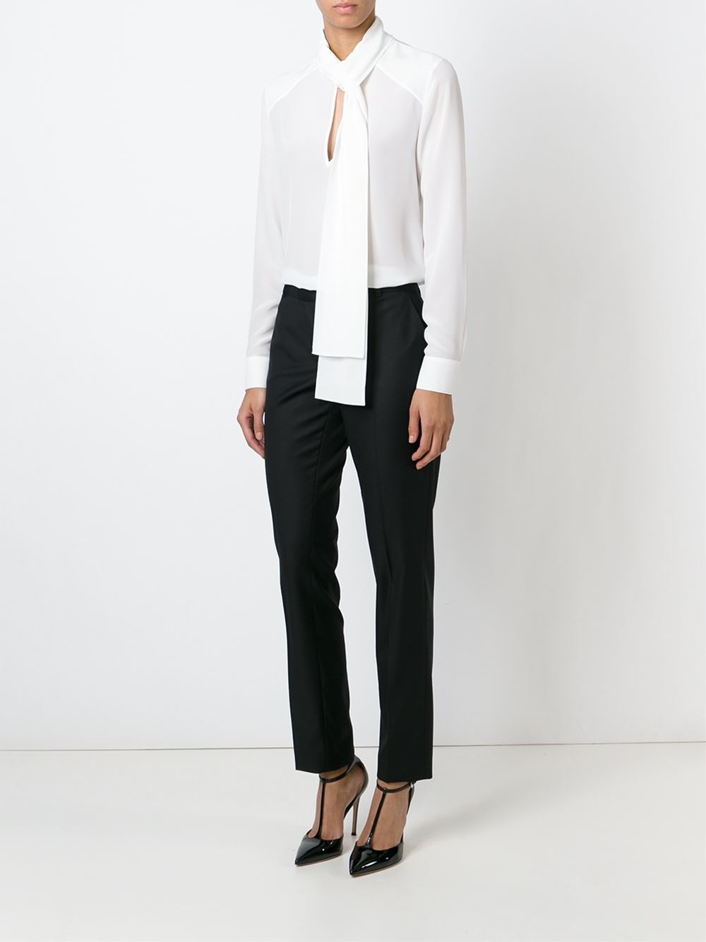 Ebay Givenchy tie neck blouse Sale Get To Buy Cheap Many Kinds Of Sale 100% Original Clearance Best Seller 5ZEo5